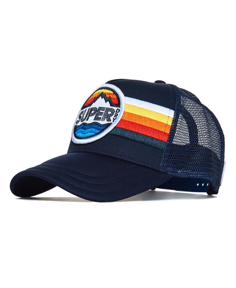 ce196b3c Superdry Super Upstate Cap in Blue for Men - Lyst