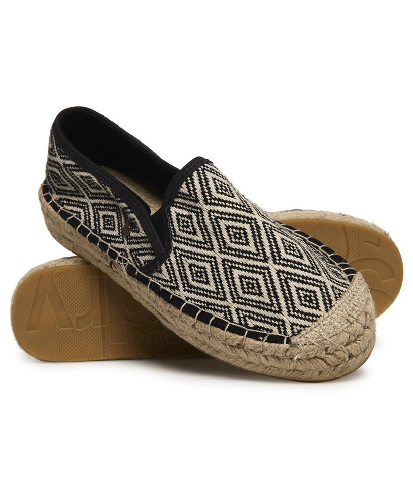 Superdry POLLY FLAT FORM - Espadrilles - pewter 0wbNf