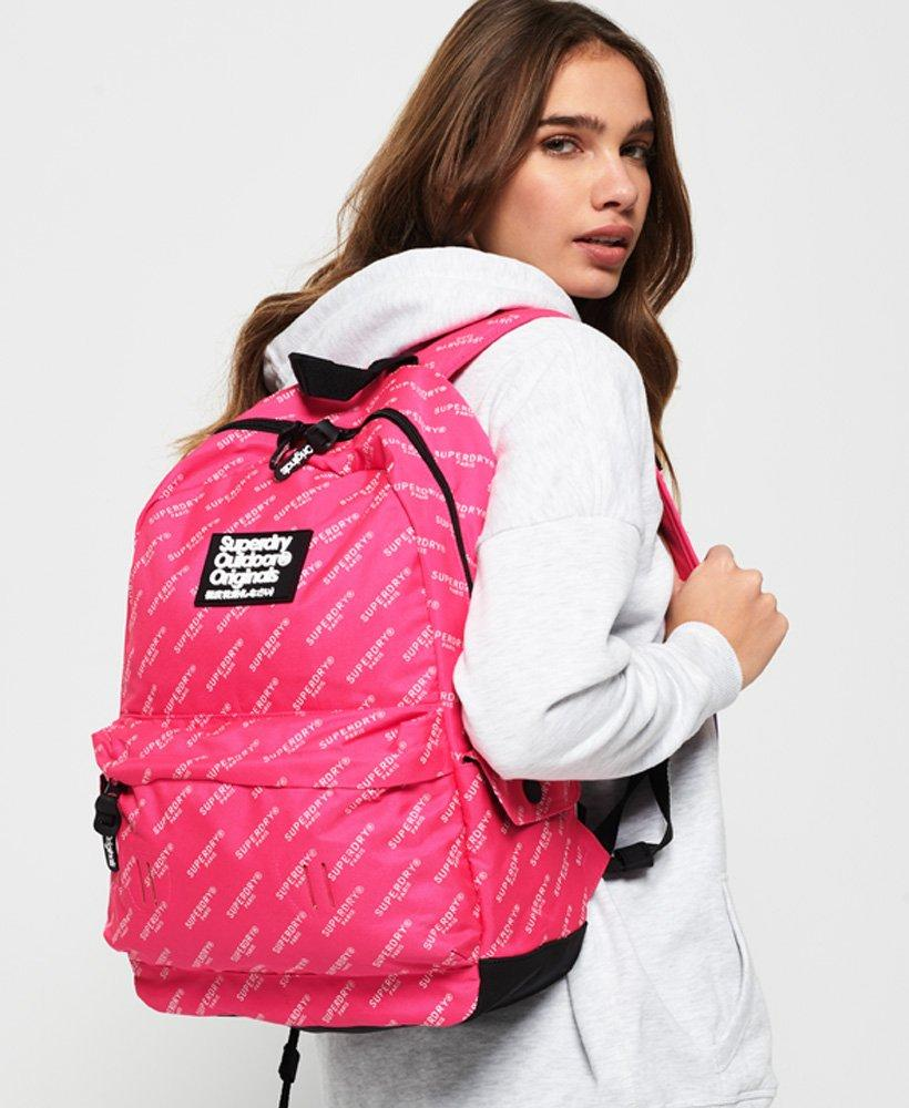 Lyst - Superdry Print Edition Montana Rucksack in Pink 15919d4211e03
