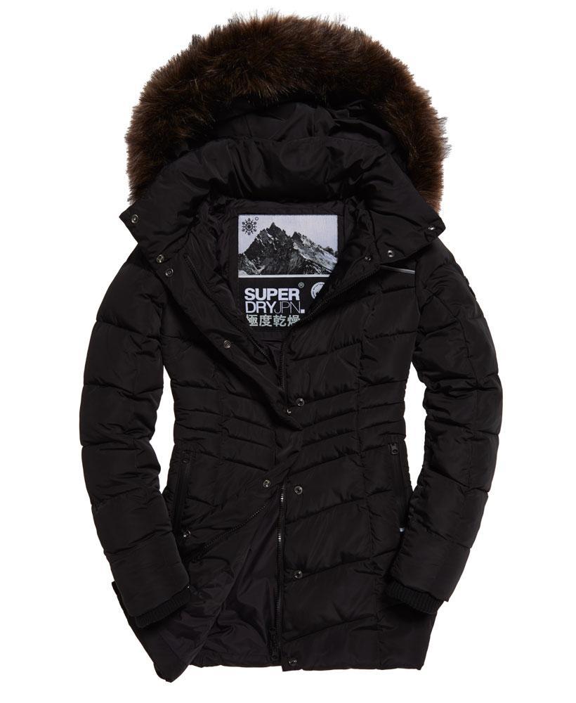 Lyst Superdry Glacier Parka Jacket In Black
