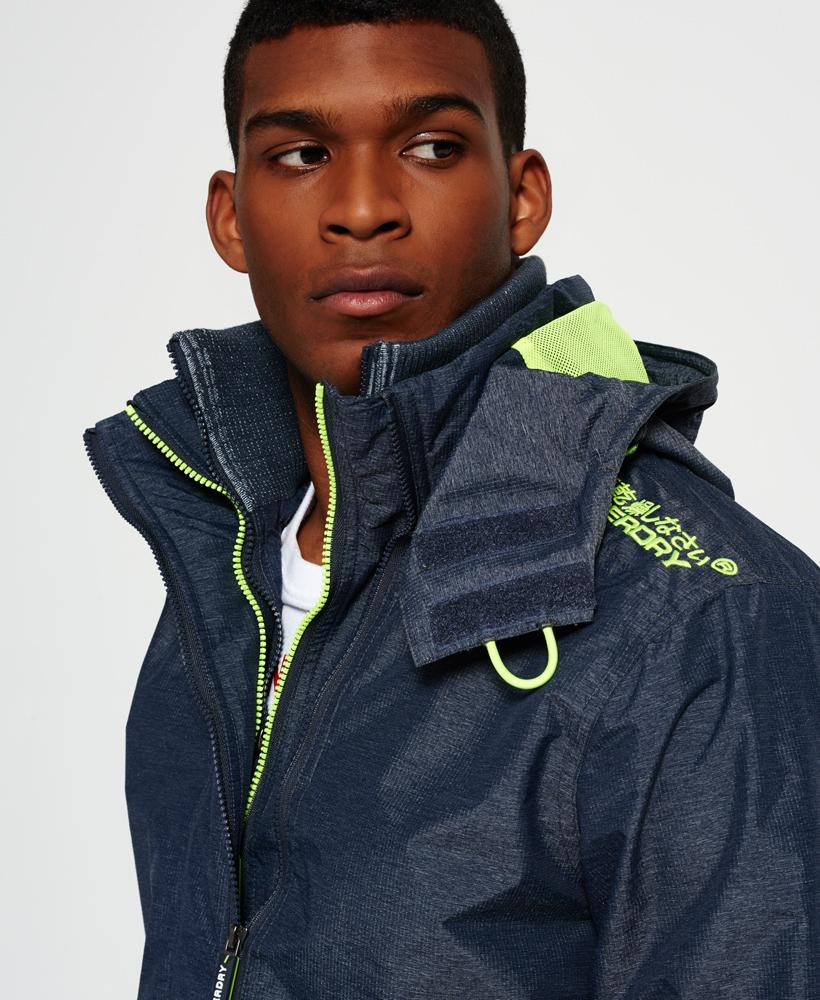 Superdry: Superdry Pop Zip Hooded Technical Windcheater Jacket In