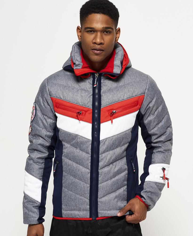 Lyst Superdry Scuba Slopestyle Hooded Fuji Jacket In
