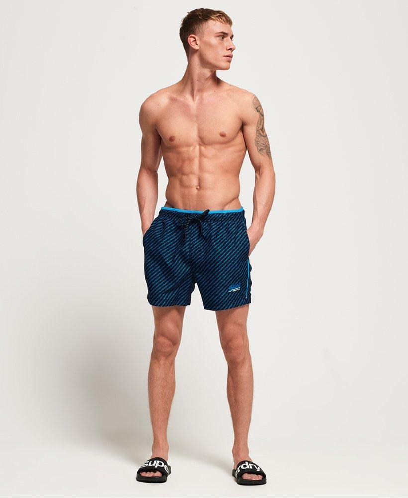 af5ab9cc85 Lyst - Superdry Beach Volley Swim Shorts in Blue for Men - Save 50%