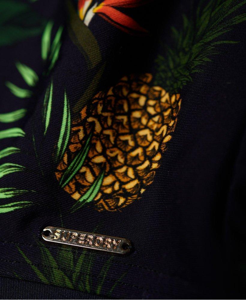 6c9fa76623 Superdry - Green Ava Cross Back Vee Swimsuit - Lyst. View fullscreen