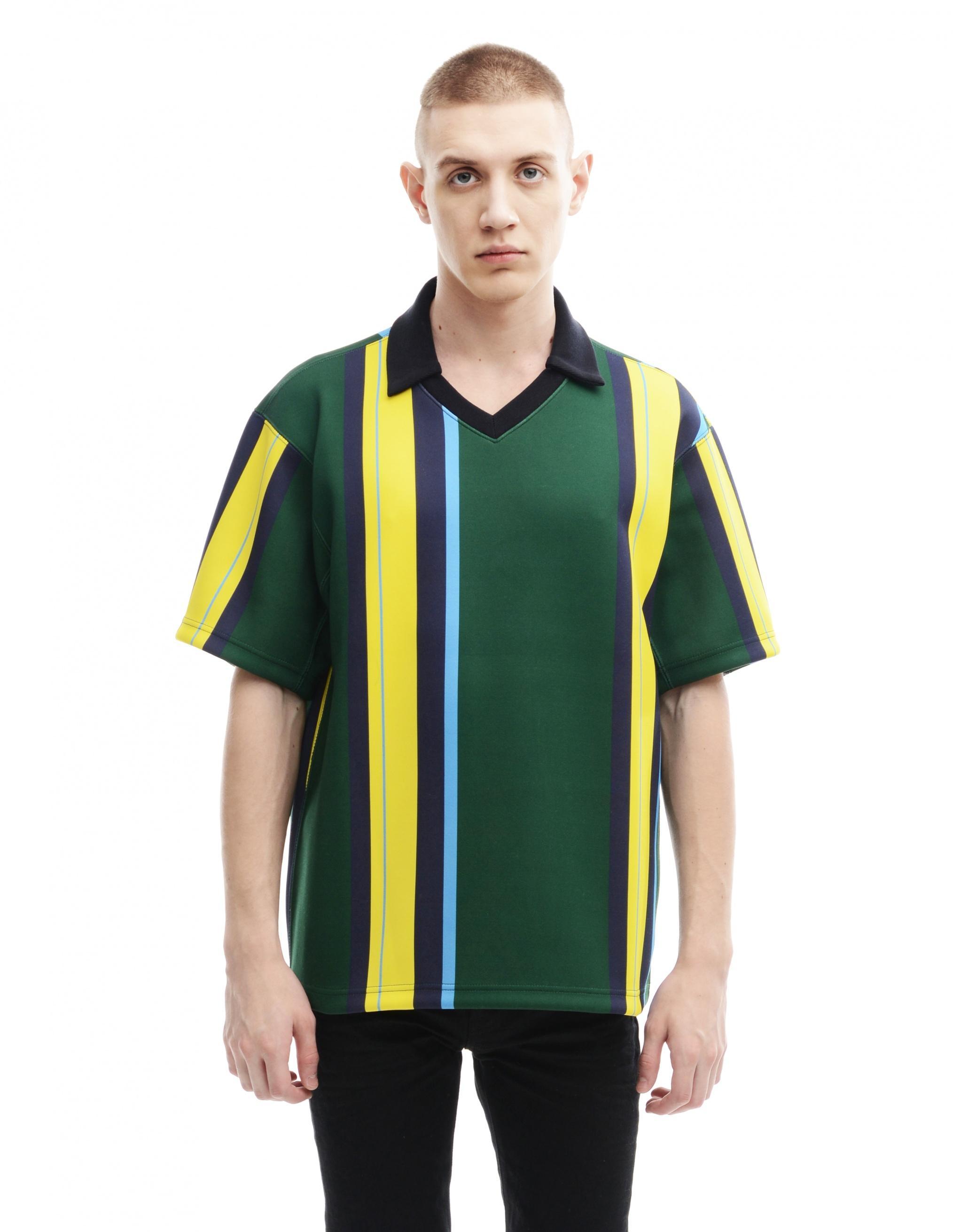 Lyst kolor polyester t shirt in green for men for Polyester t shirts for men