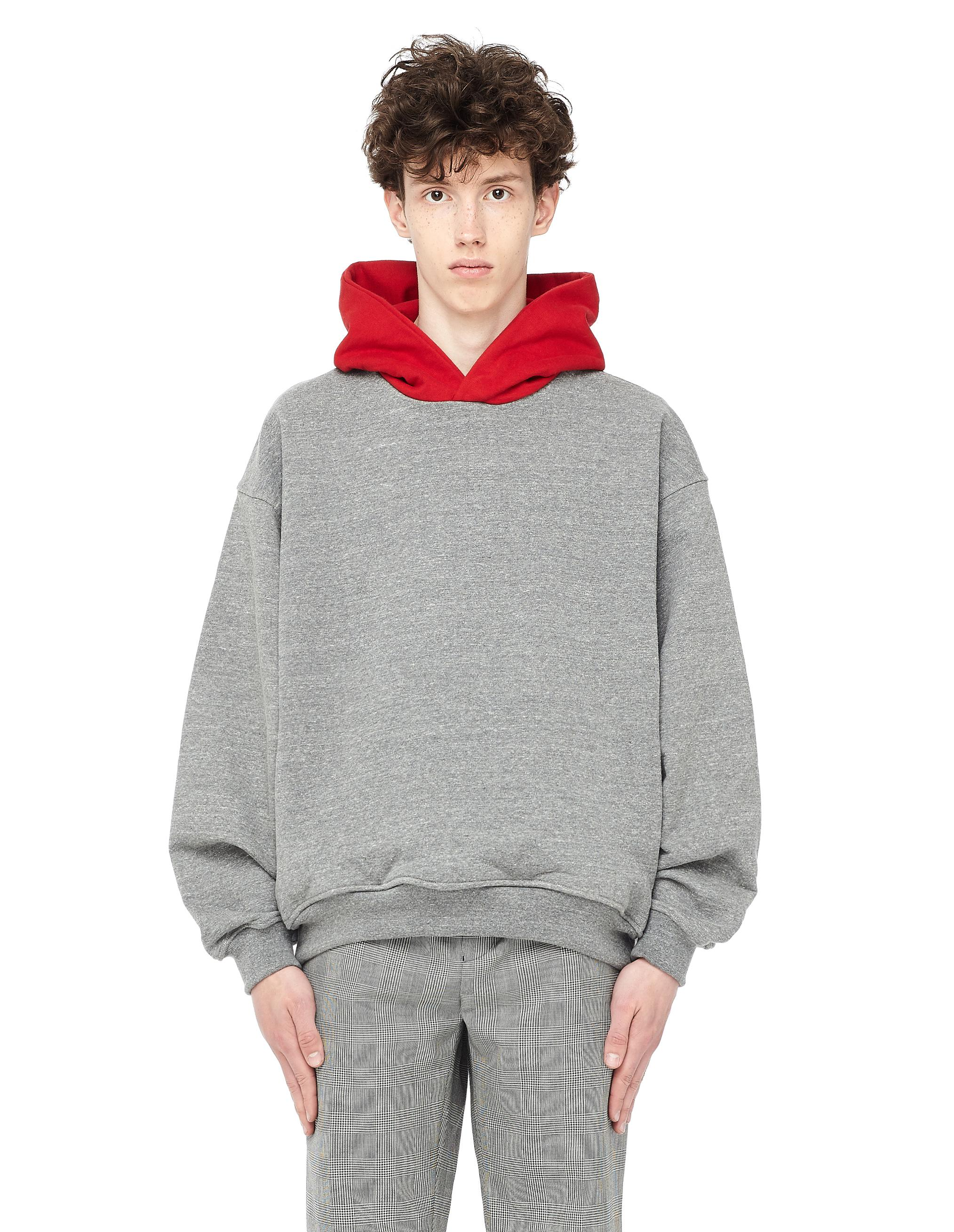 c100c95c313 Fear Of God Heavy Terry Everyday Hoodie in Gray for Men - Lyst