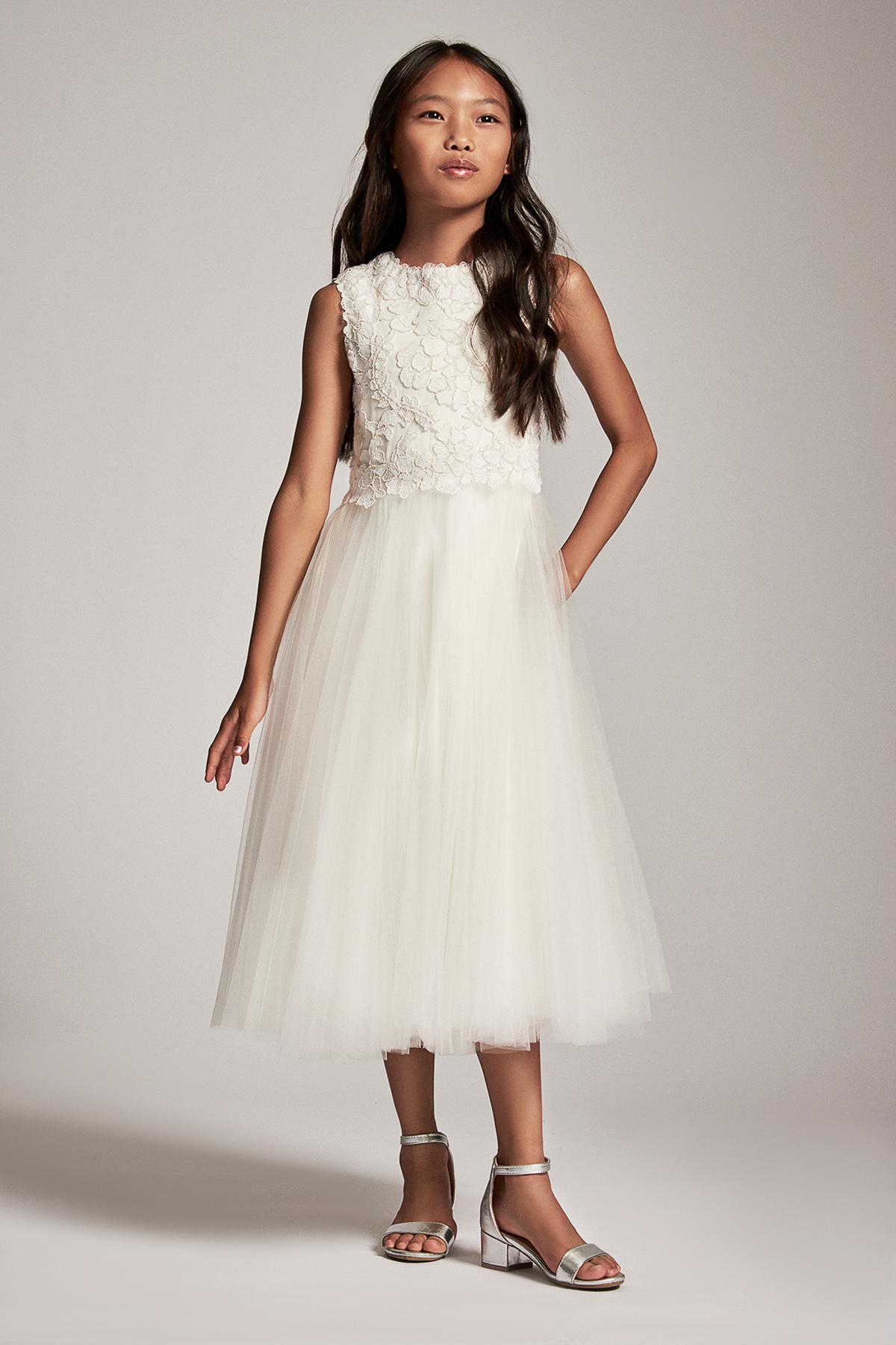 c4d9d7bb7fd Lyst - Tadashi Shoji Gelsey Midi Dress in White