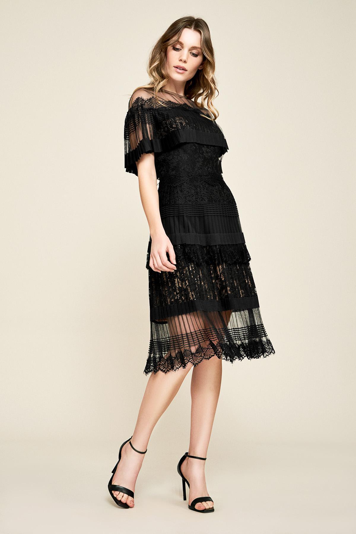 Tadashi Shoji Black Dresses