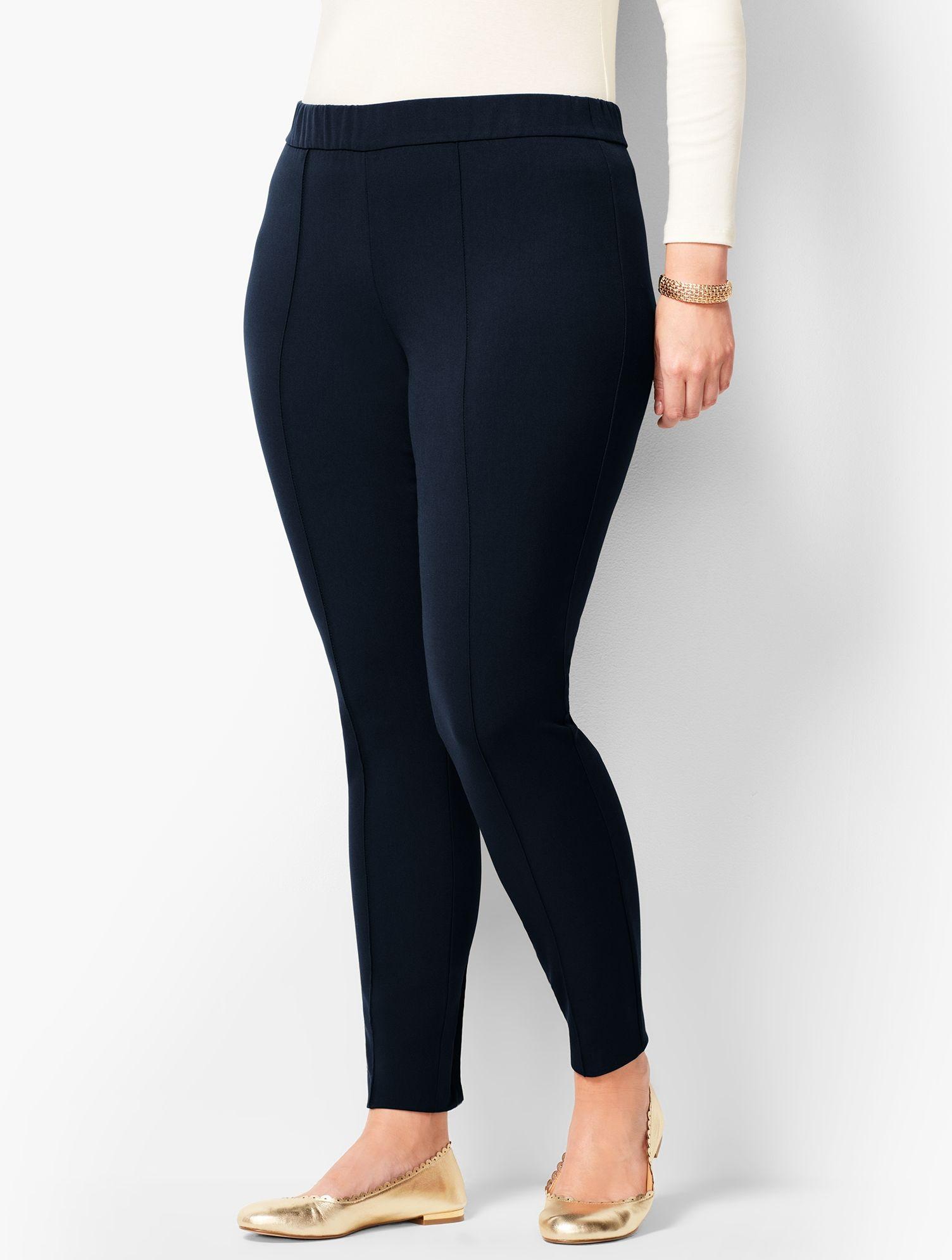 f233bec22521 Talbots. Women's Blue Plus Size High-waist Bi-stretch Skinny Ankle Pants