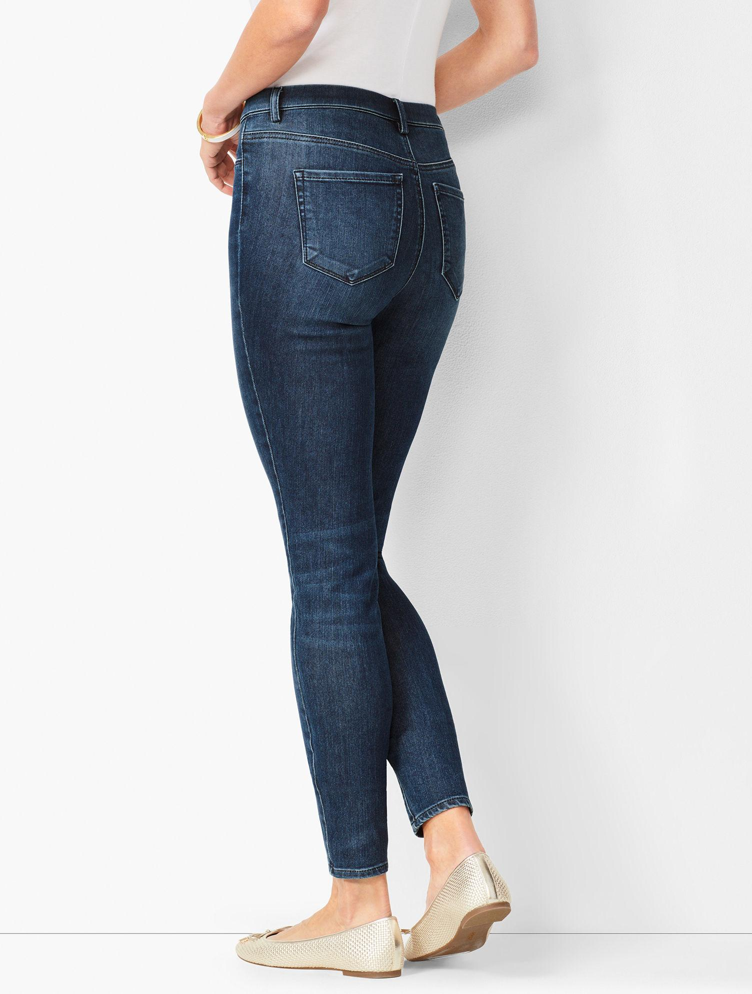 087c1ef4689a Lyst - Talbots Pull-on Jeggings in Blue