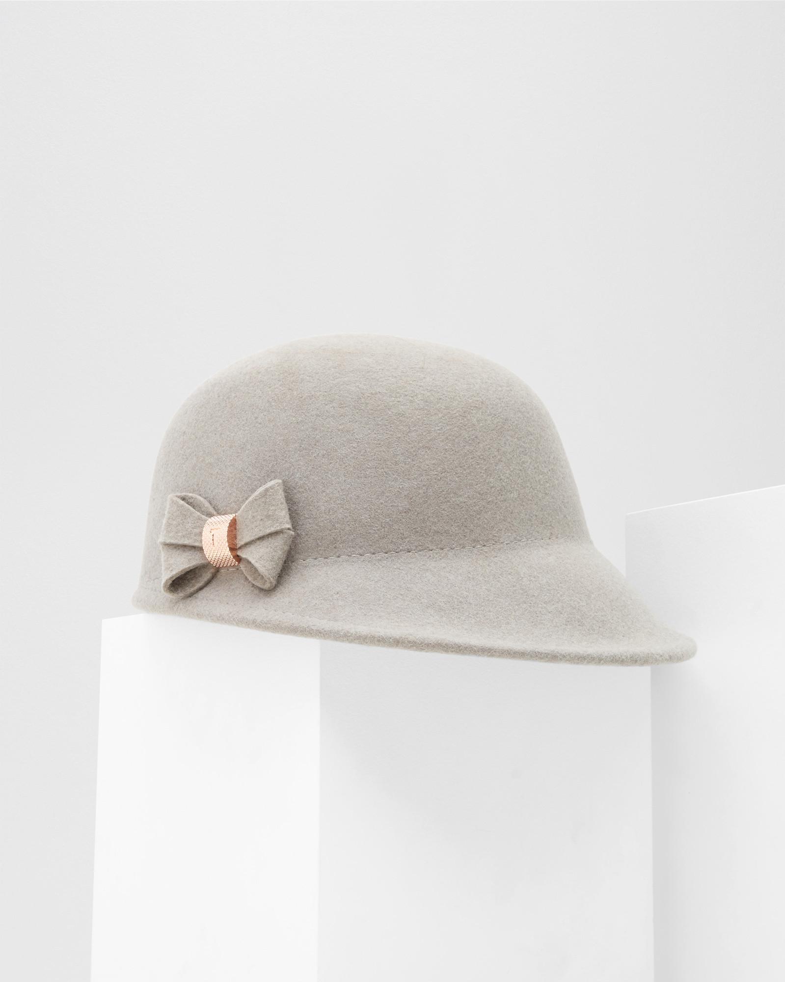 b903e04c10a5e Lyst - Ted Baker Mini Bow Cap