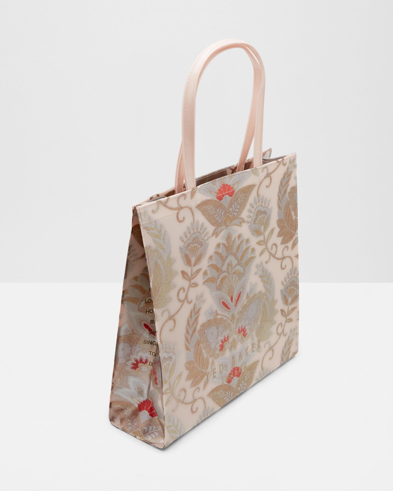 55c604bf9c553 Lyst - Ted Baker Opulent Orient Large Shopper Bag in Pink