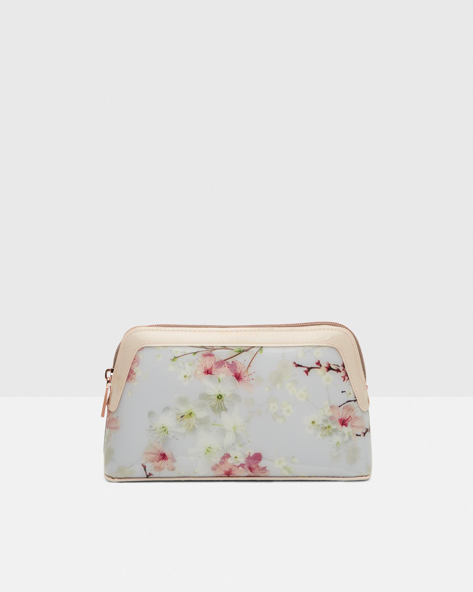 0b66e1671ac822 Lyst - Ted Baker Oriental Blossom Make Up Bag in Gray