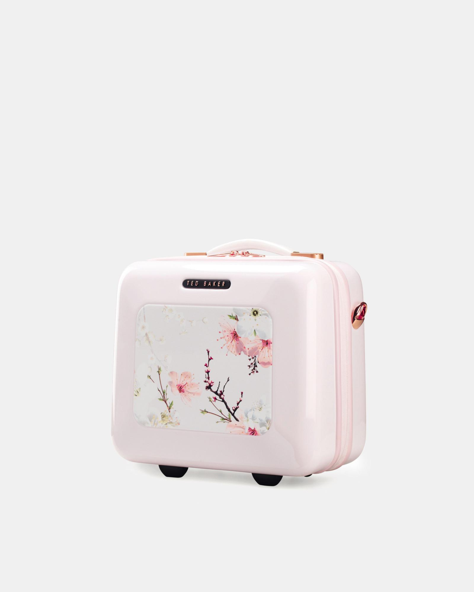 7664c83b45eddd Lyst - Ted Baker Oriental Blossom Vanity Case in Pink