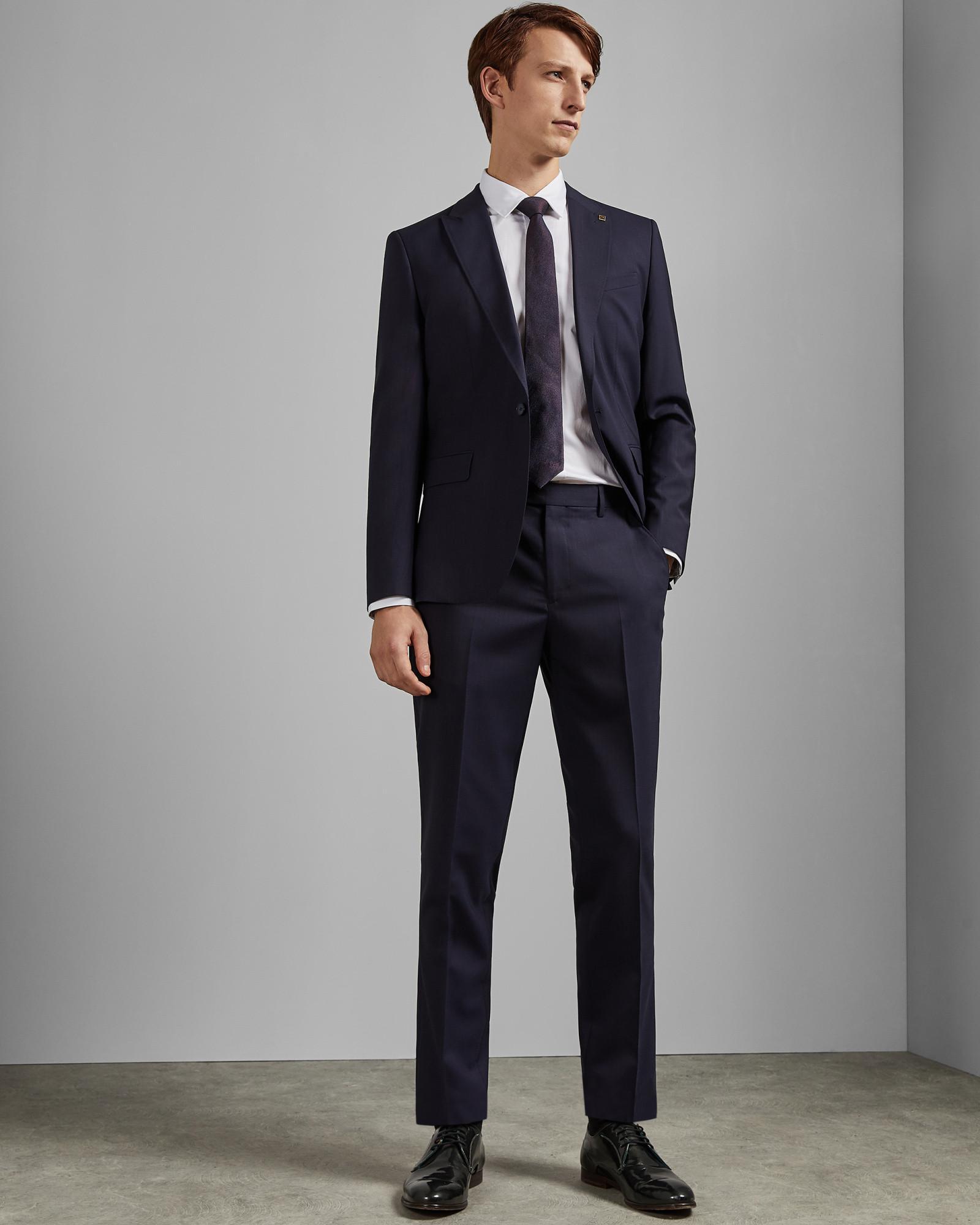 872396786708 Lyst - Ted Baker Debonair Stripe Wool Trousers in Blue for Men