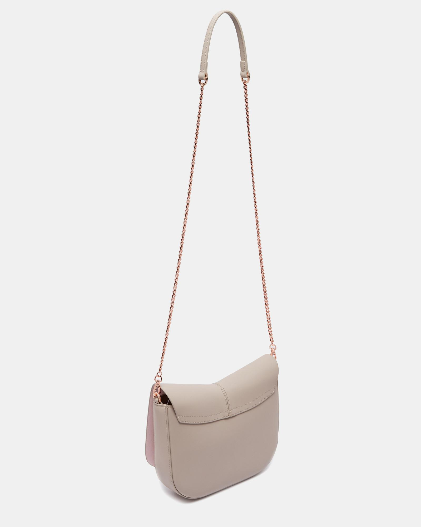 1a435a8b30 Ted Baker Kitti Cat Leather Across Body Bag - Lyst