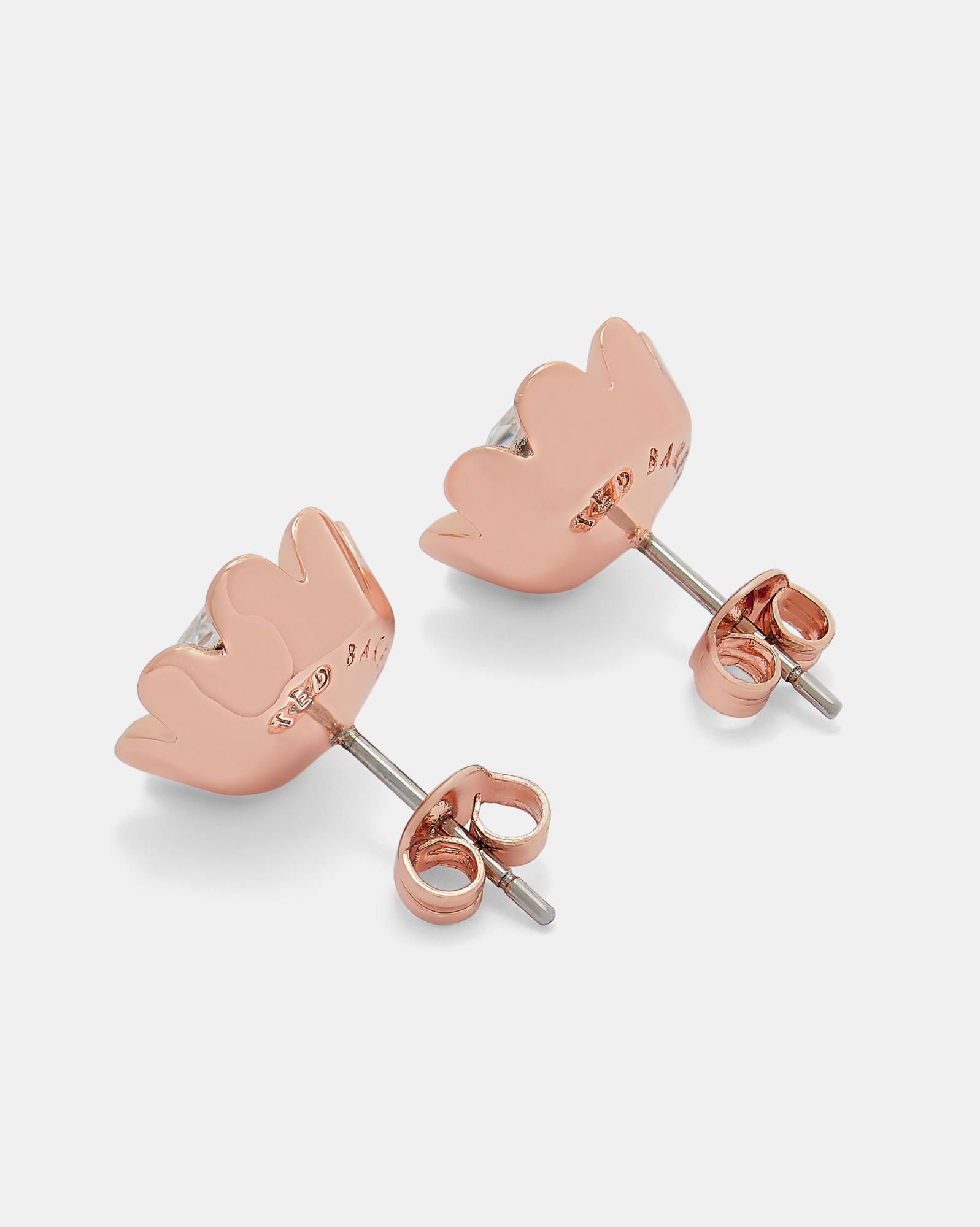 65b1ad3e1 Lyst - Ted Baker Magnolia Stud Earrings