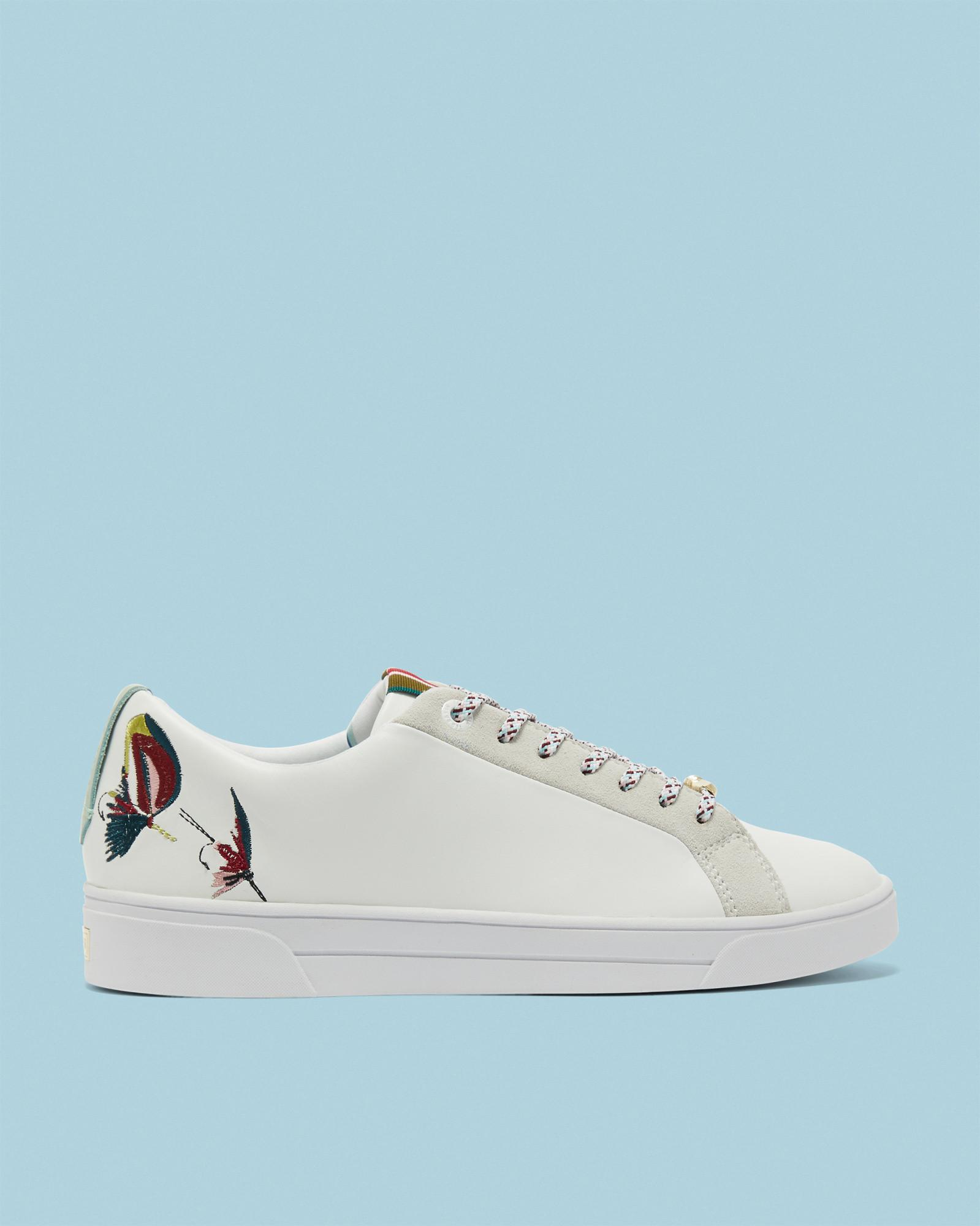 Shop For Swimmers Embroidered Trainers Ted Baker Clearance Limited Edition cCQhKAB