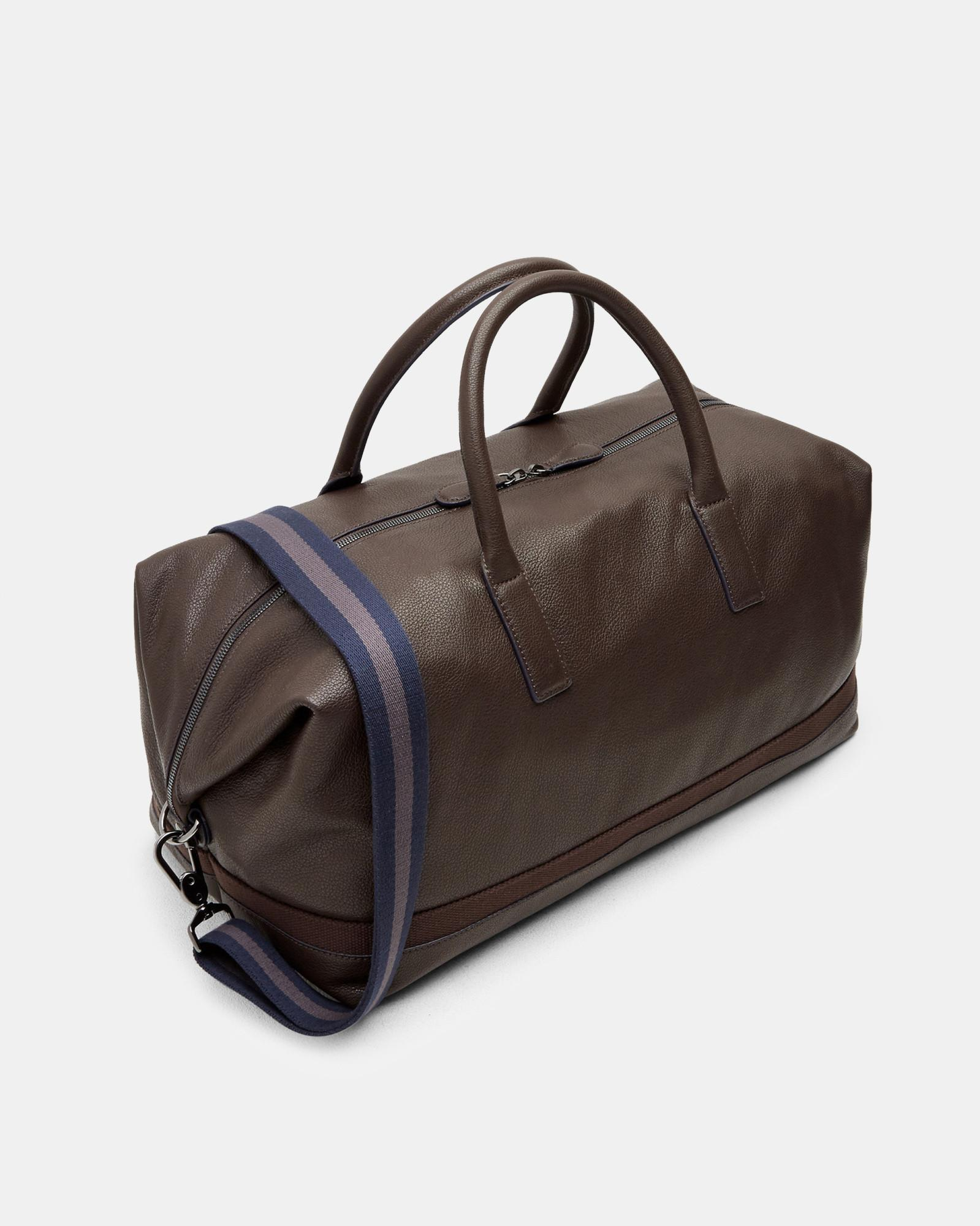 Ted Baker Leather Holdall in Brown for Men - Save 13% - Lyst 6b8249880e2f1