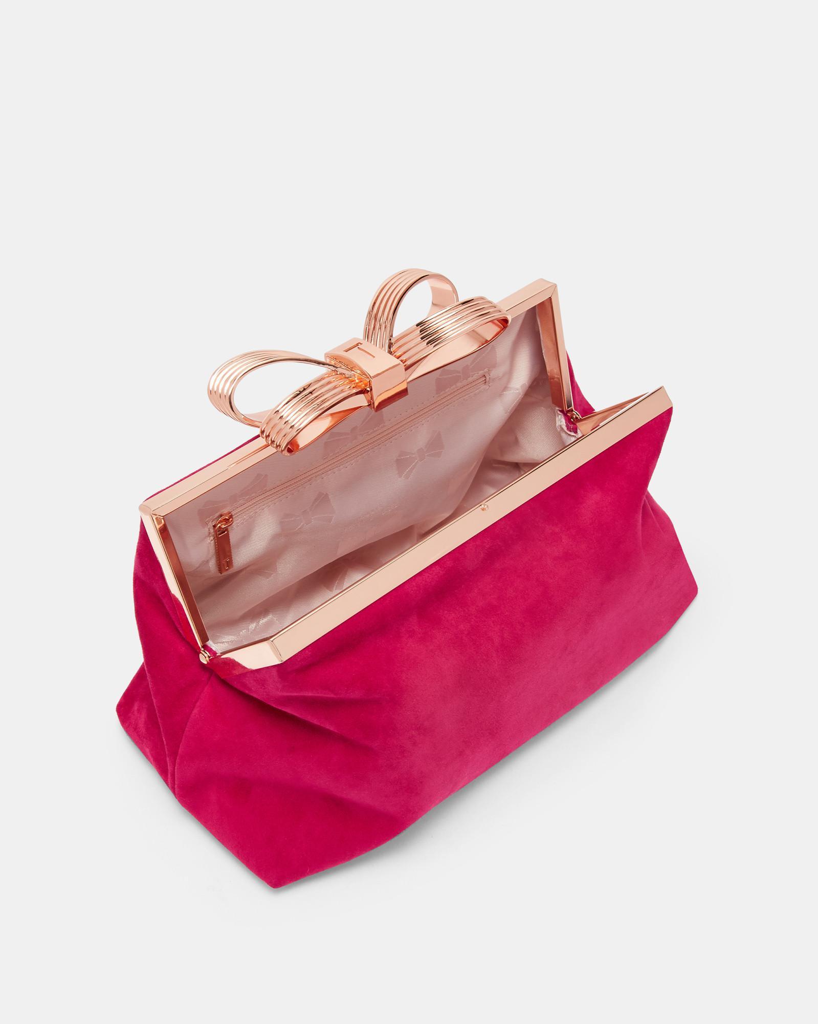 VIDA Leather Statement Clutch - Psyché Bag by VIDA Wkag23