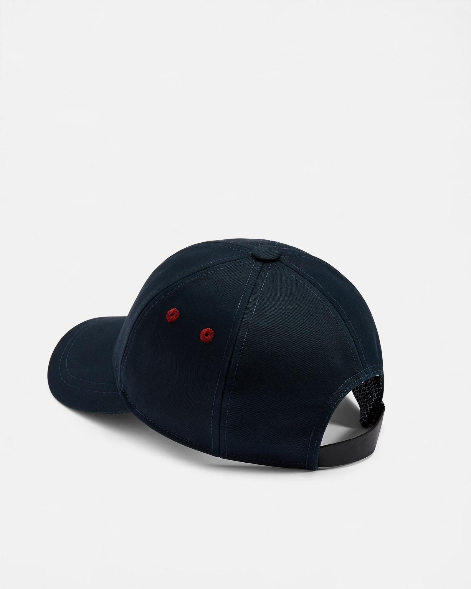 f5939ad1f26311 Ted Baker Plain Baseball Cap in Blue for Men - Lyst