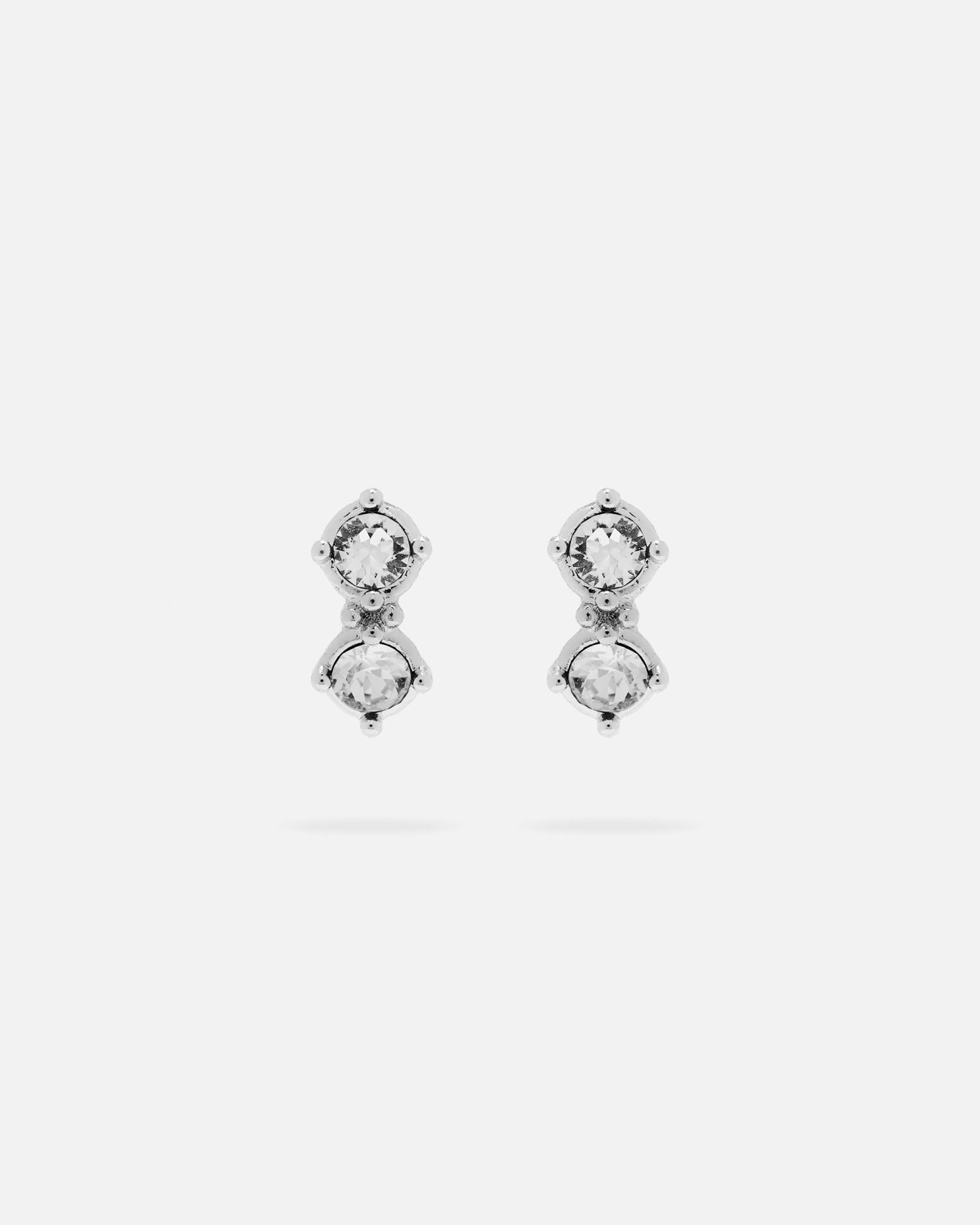 2826fd48c Ted Baker Princess Sparkle Earrings in Metallic - Lyst