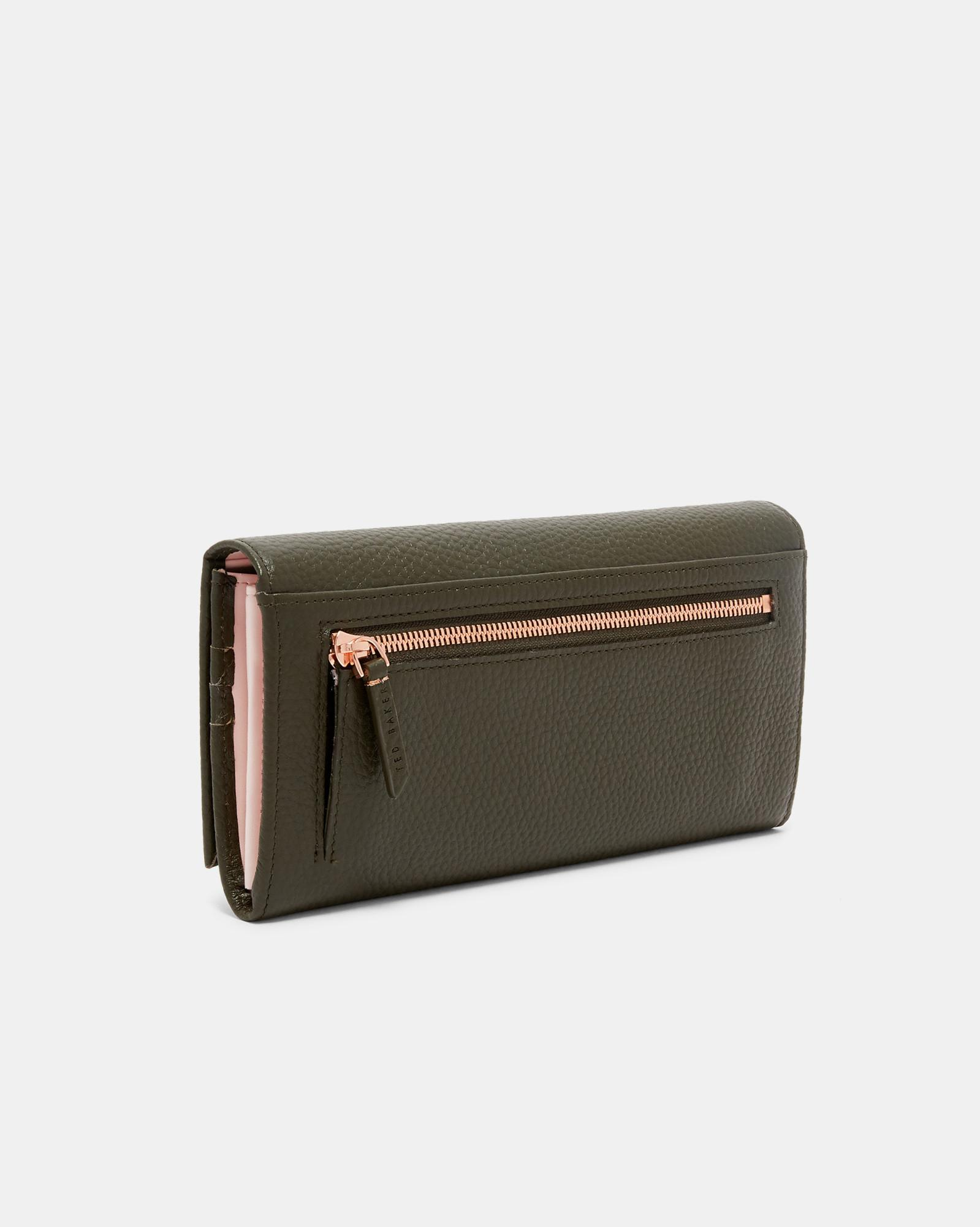 074e0494cfa8 Ted Baker Statement Letters Leather Matinee Purse - Lyst
