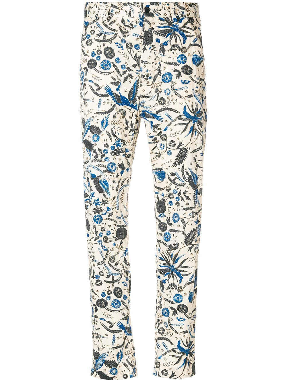 Cameron high-waisted cotton trousers Isabel Marant M3vxwO