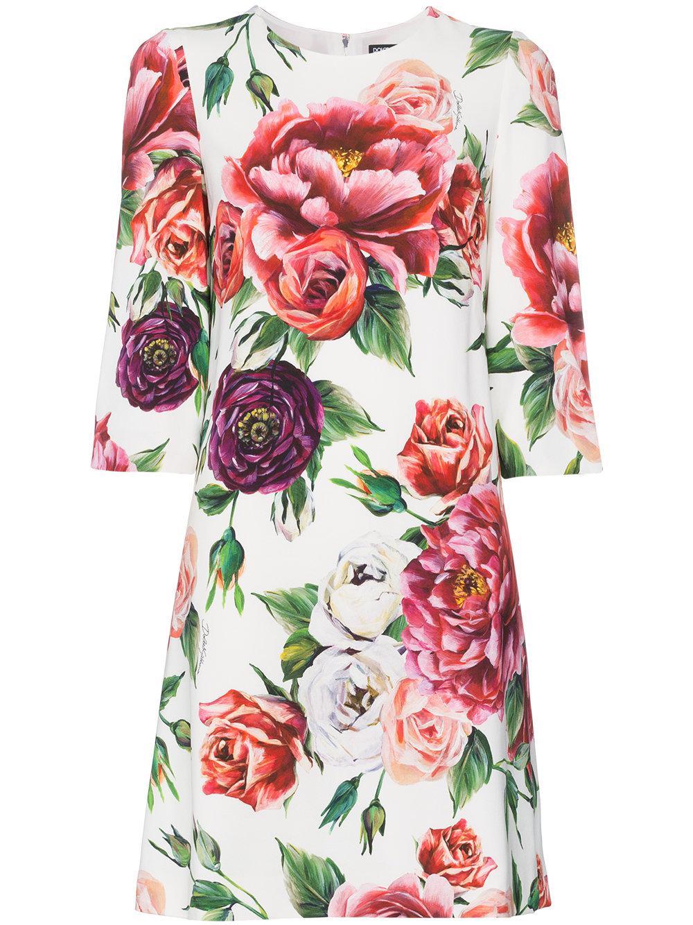 fe31c9fcab Dolce   Gabbana. Women s Printed Cady Dress