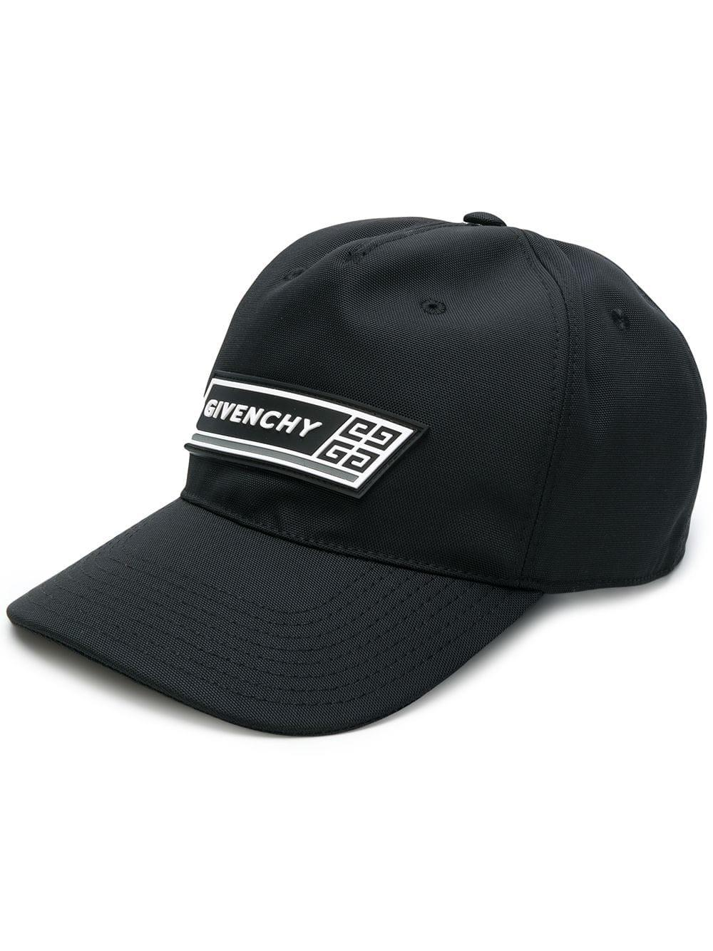 c39825808ab Givenchy - Black Curved Cap With Logo for Men - Lyst. View fullscreen