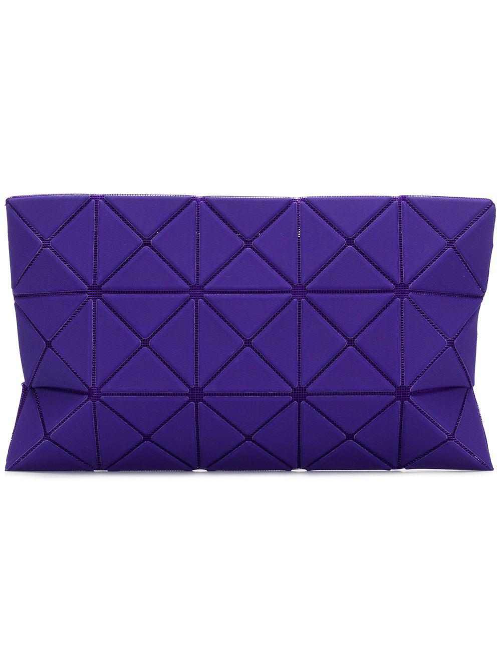c442725cde66 Lyst - Bao Bao Issey Miyake Lucent Nubuck Pouch in Purple - Save 8%
