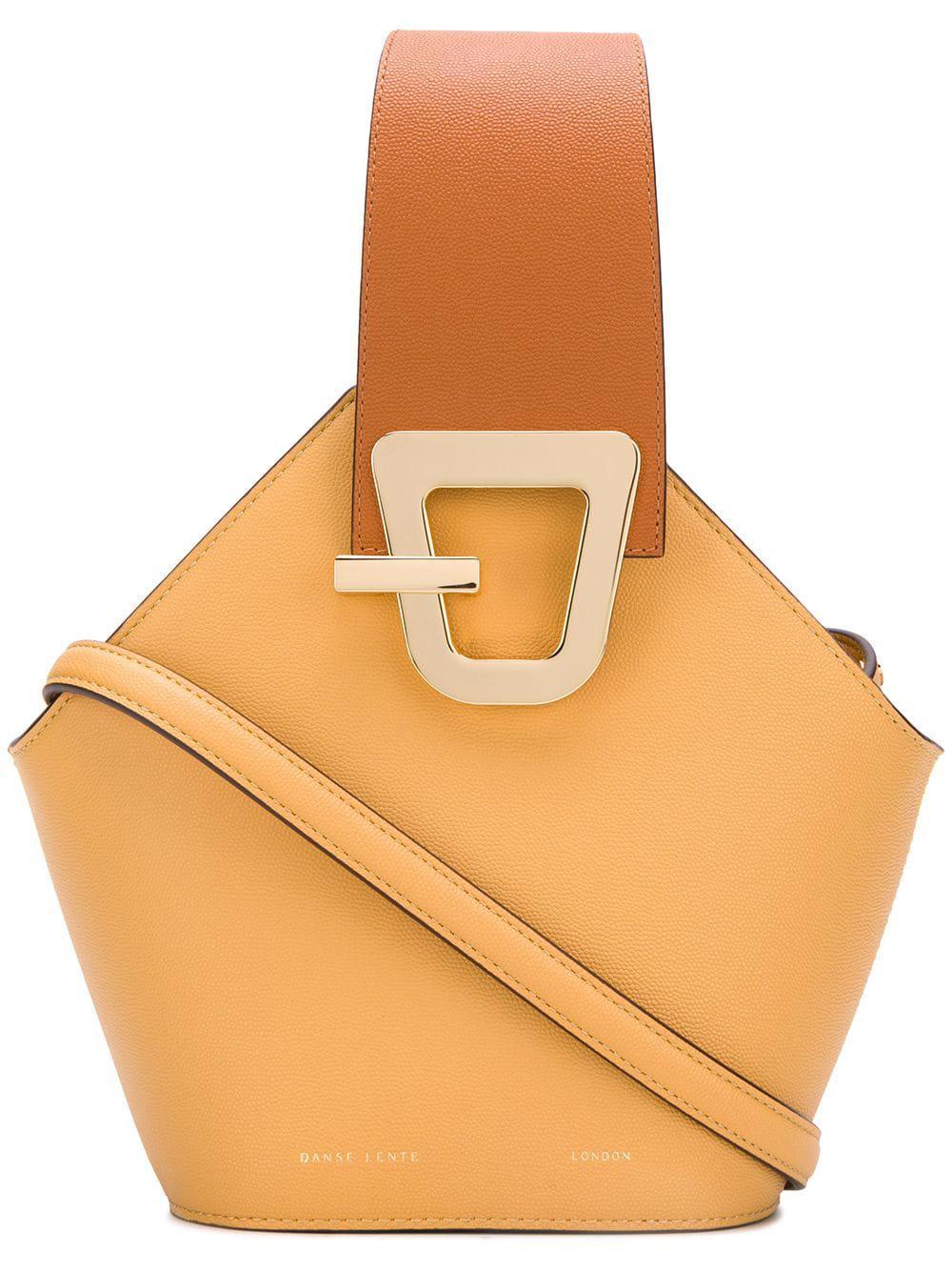 0dbf6f4c1bca Lyst - Danse Lente Johnny Leather Shoulder Bag in Natural