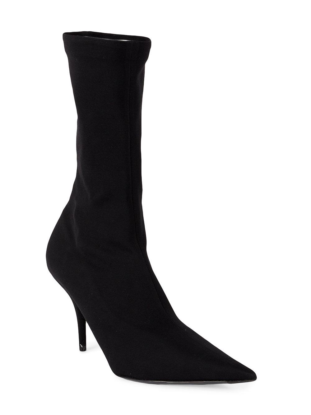 4cbbe6288c60 Balenciaga Knife Ankle Boots in Black - Save 6.417112299465245% - Lyst