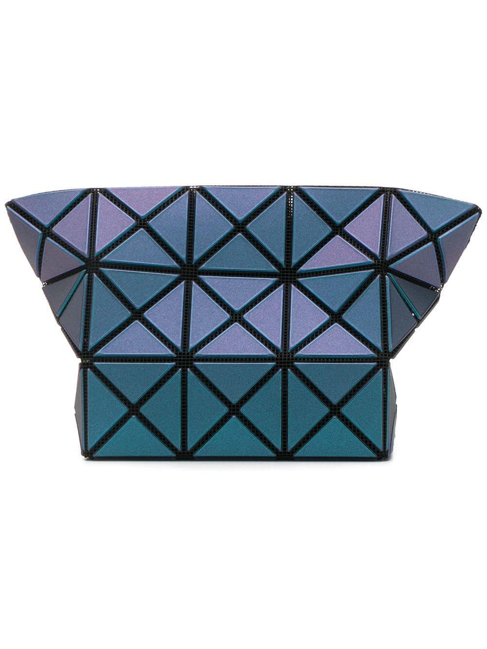 bd1f4bfe1144 Lyst - Bao Bao Issey Miyake Geometric Make-up Bag in Blue - Save 7%