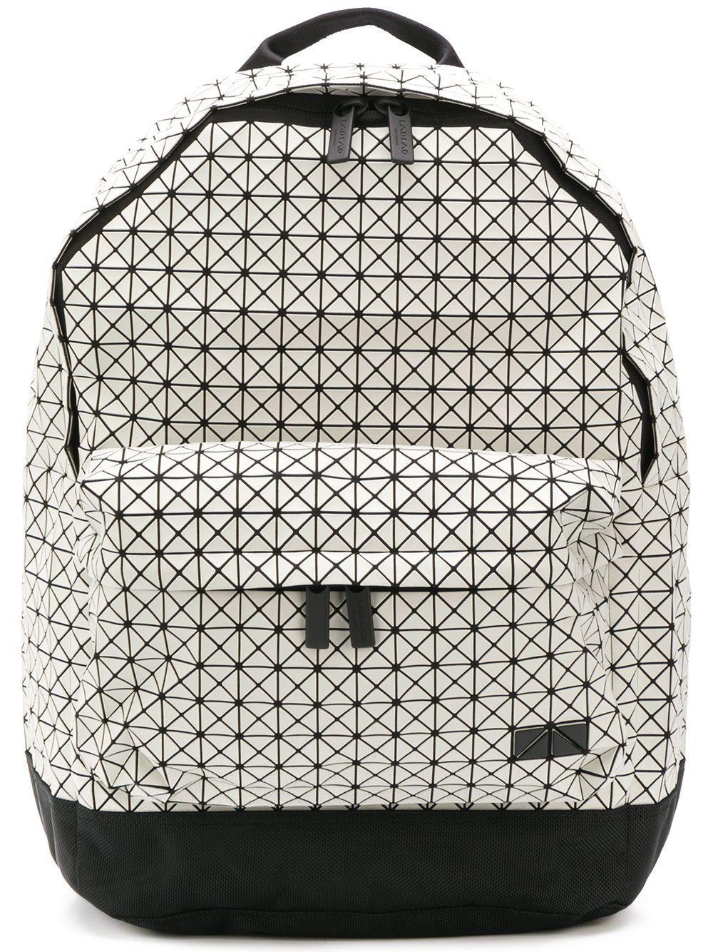 Bao Bao Issey Miyake Daypack Geometric Backpack in Natural for Men ... 0e243c40602fd