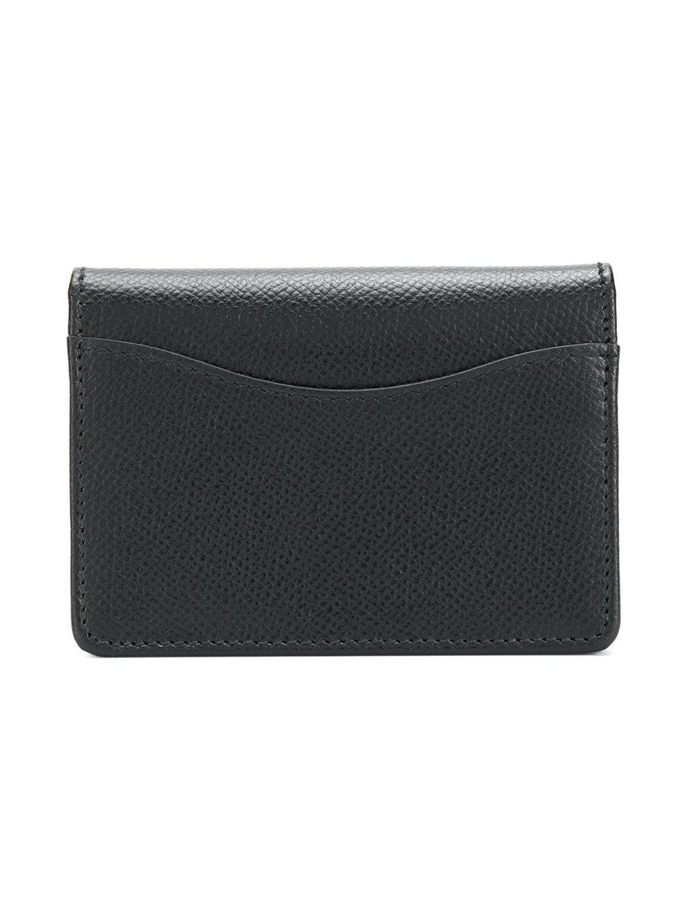 5c22c8670b11 Ferragamo - Black Gancino Clip Leather Clutch - Lyst. View fullscreen