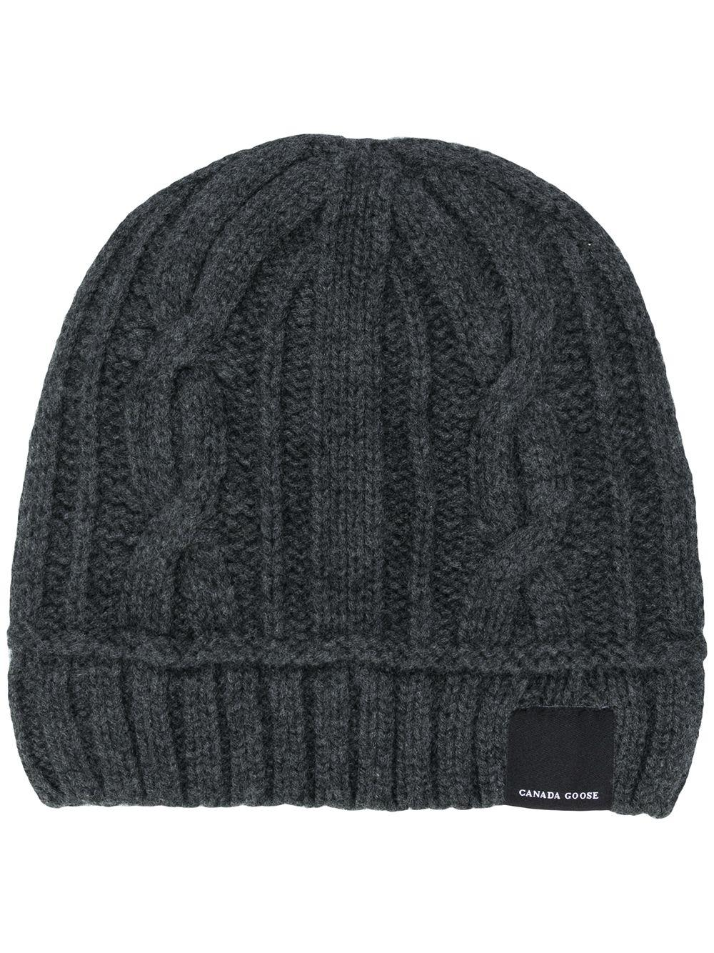 9426251ce33 ... Gray Cable Toque Wool Hat - Lyst. View fullscreen