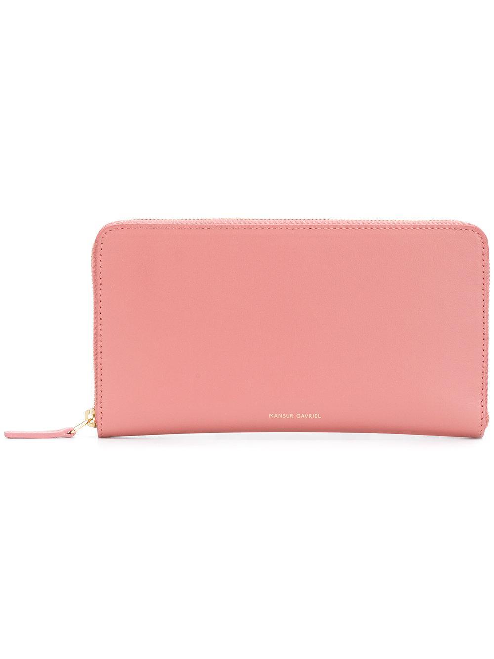 Zip-around leather wallet Mansur Gavriel 7SylU