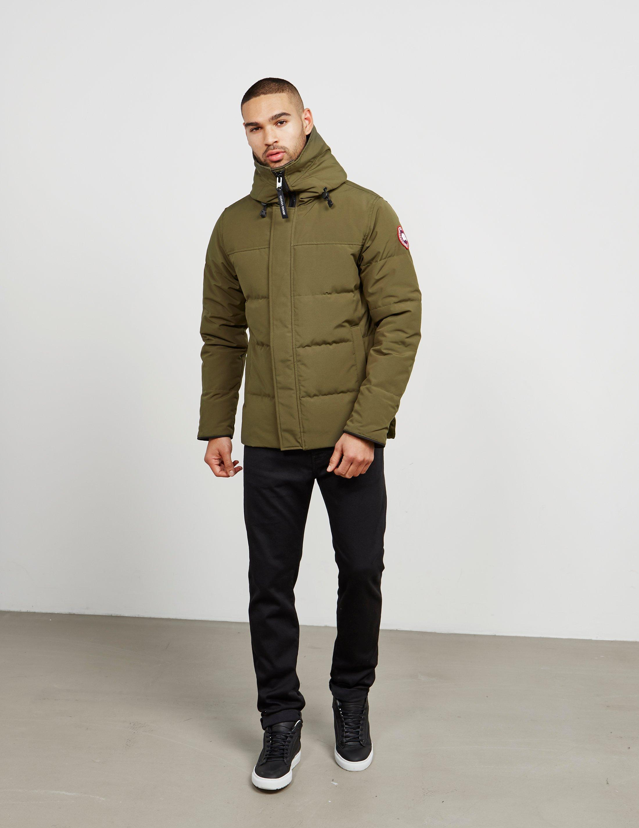 4b924cf349c0 Lyst - Canada Goose Macmillan Padded Parka Jacket Green in Green for Men -  Save 22%