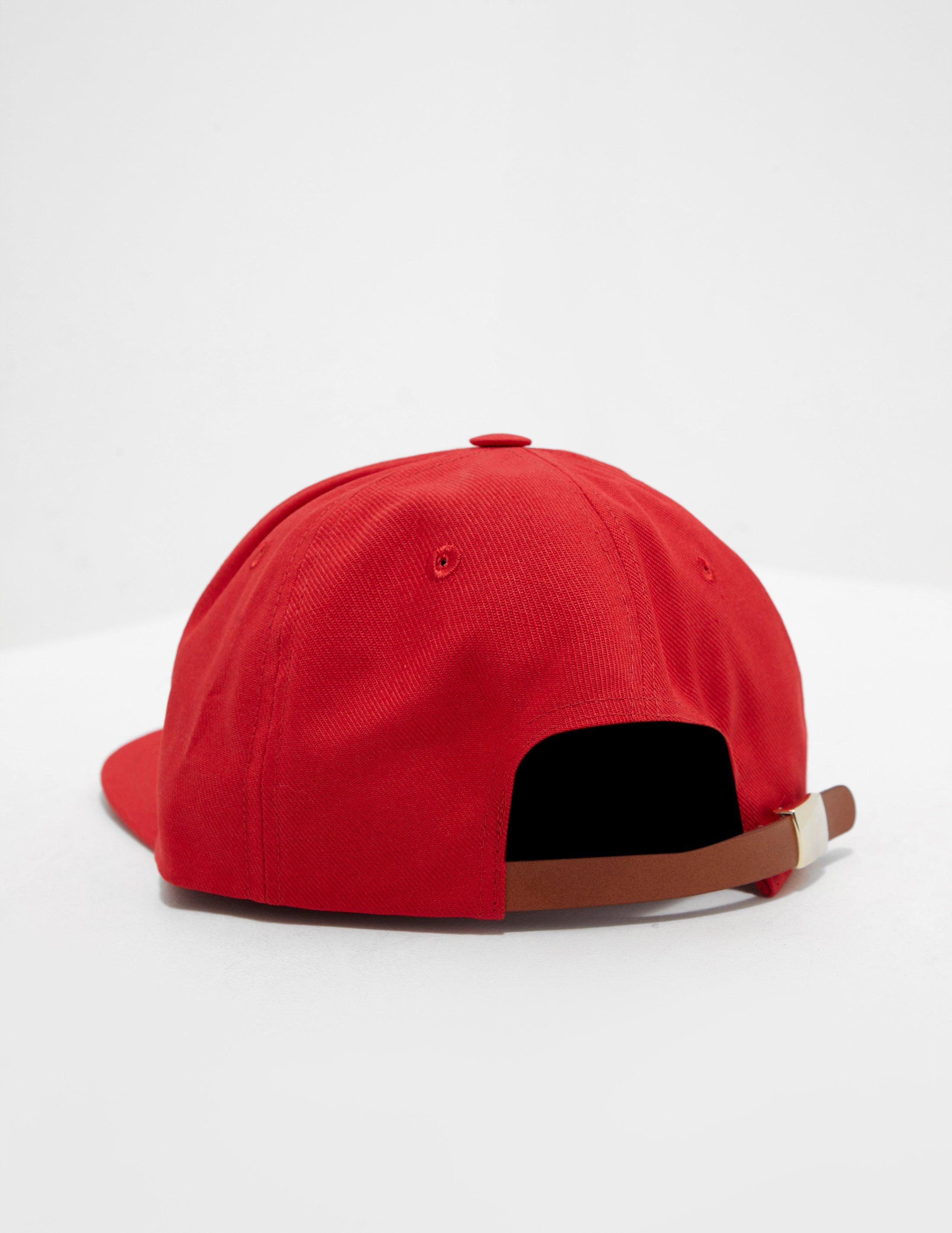 7654a8b382a7d8 Lyst - Maison Kitsuné Mens Fox Cap - Online Exclusive Red in Red for Men