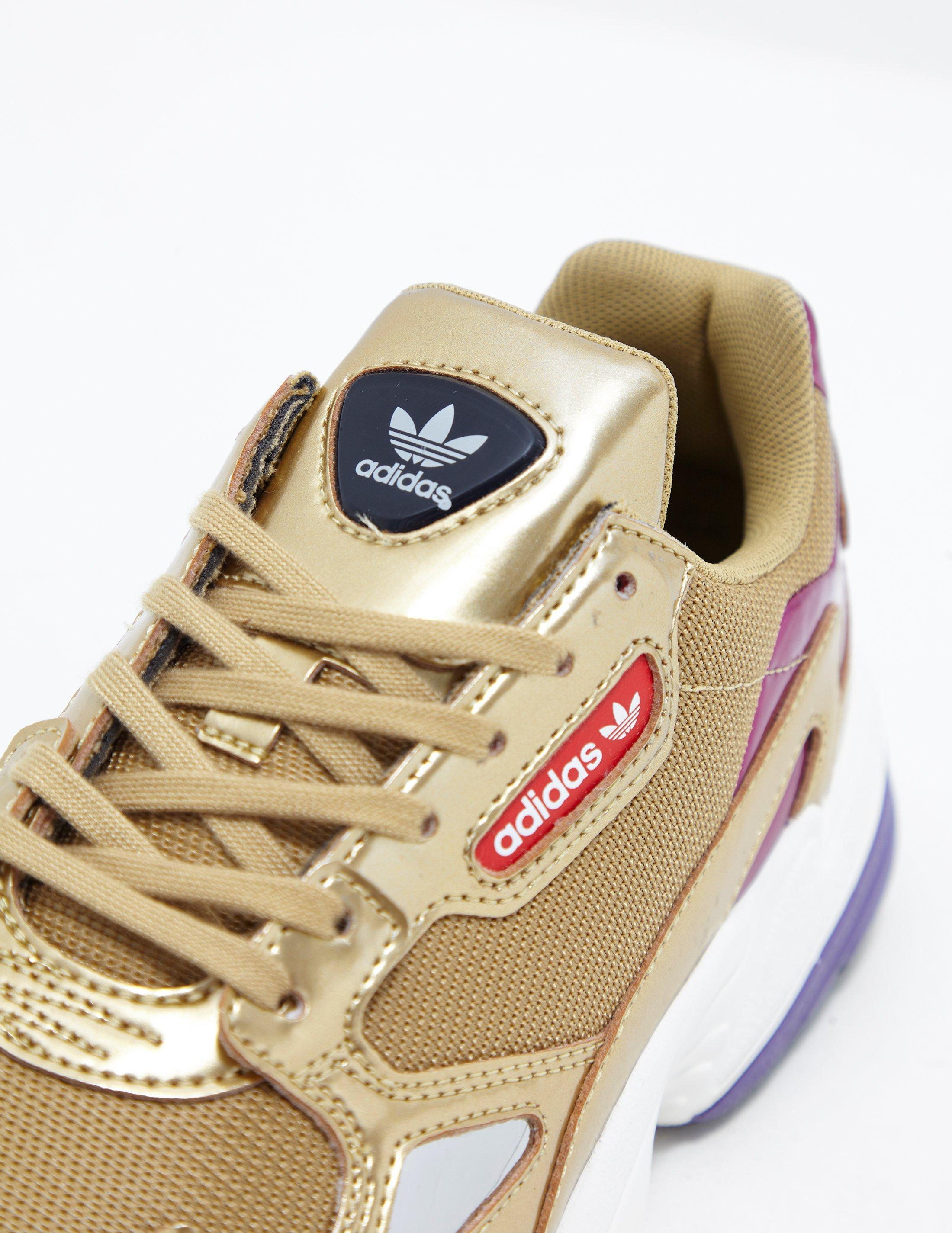Lyst Adidas Originals Womens Falcon Women S Gold In Metallic