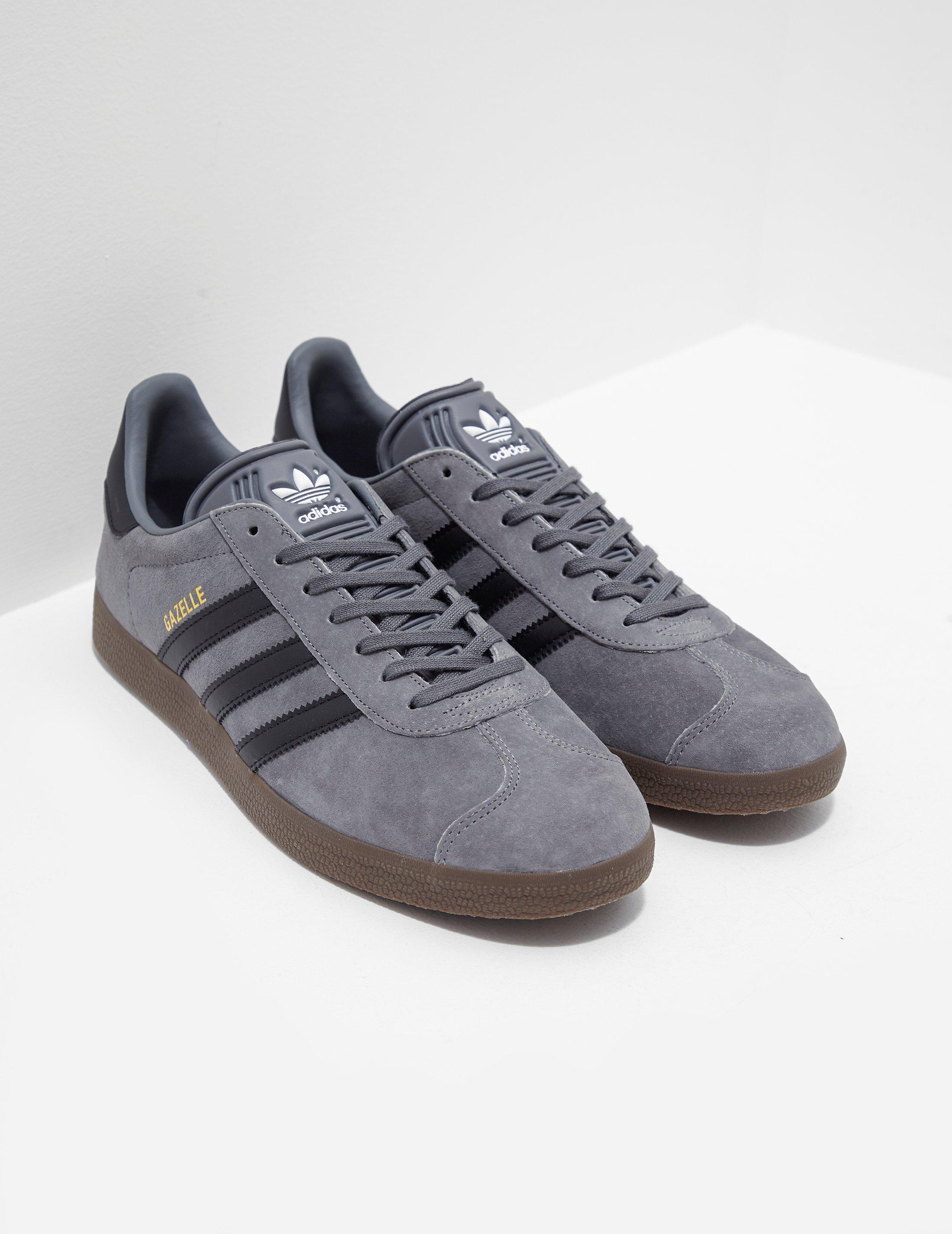 adidas Originals Gazelle Grey in Gray for Men - Lyst a734d6d8d