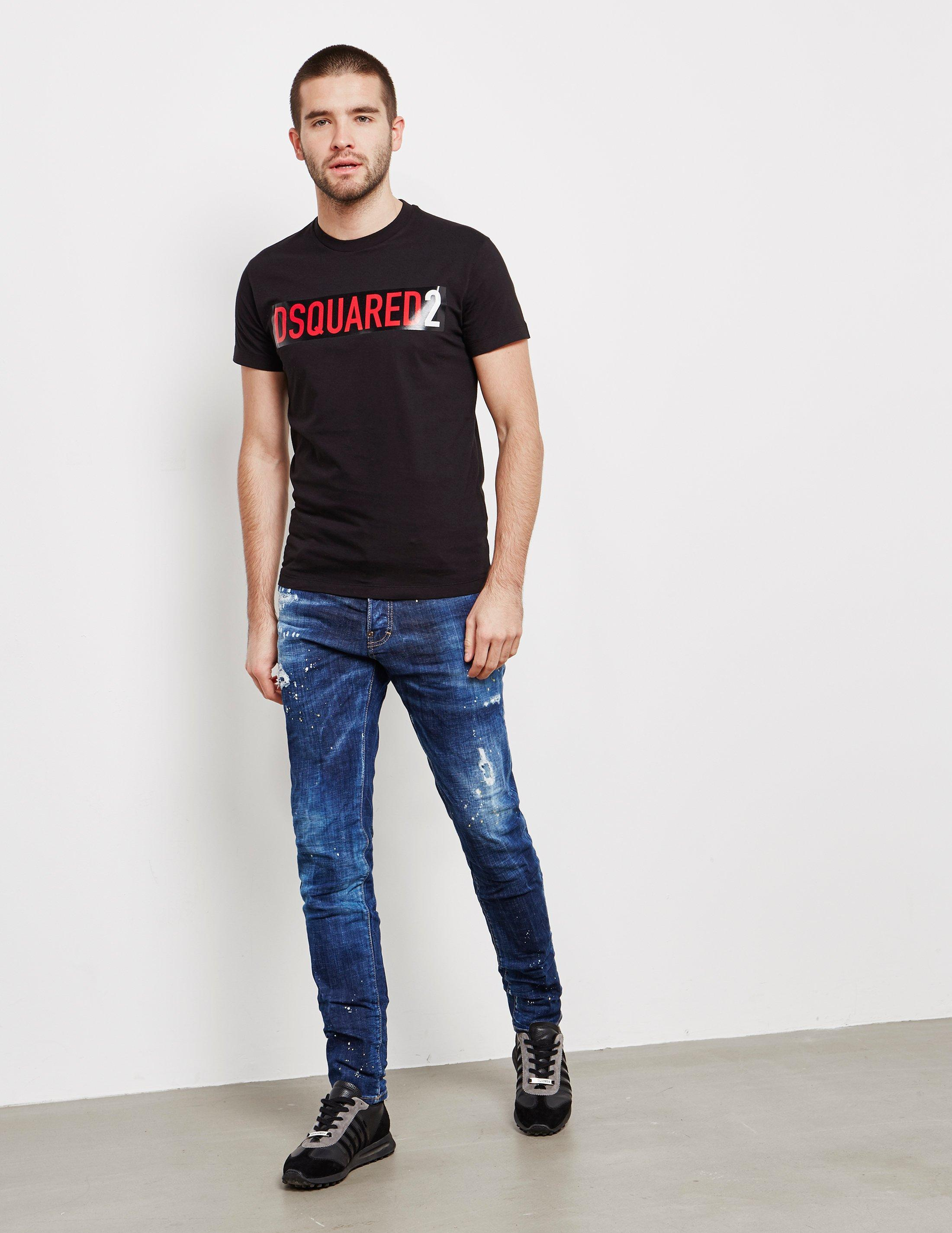 fab556204ab Lyst - DSquared² Cool Guy Skinny Jeans Blue in Blue for Men