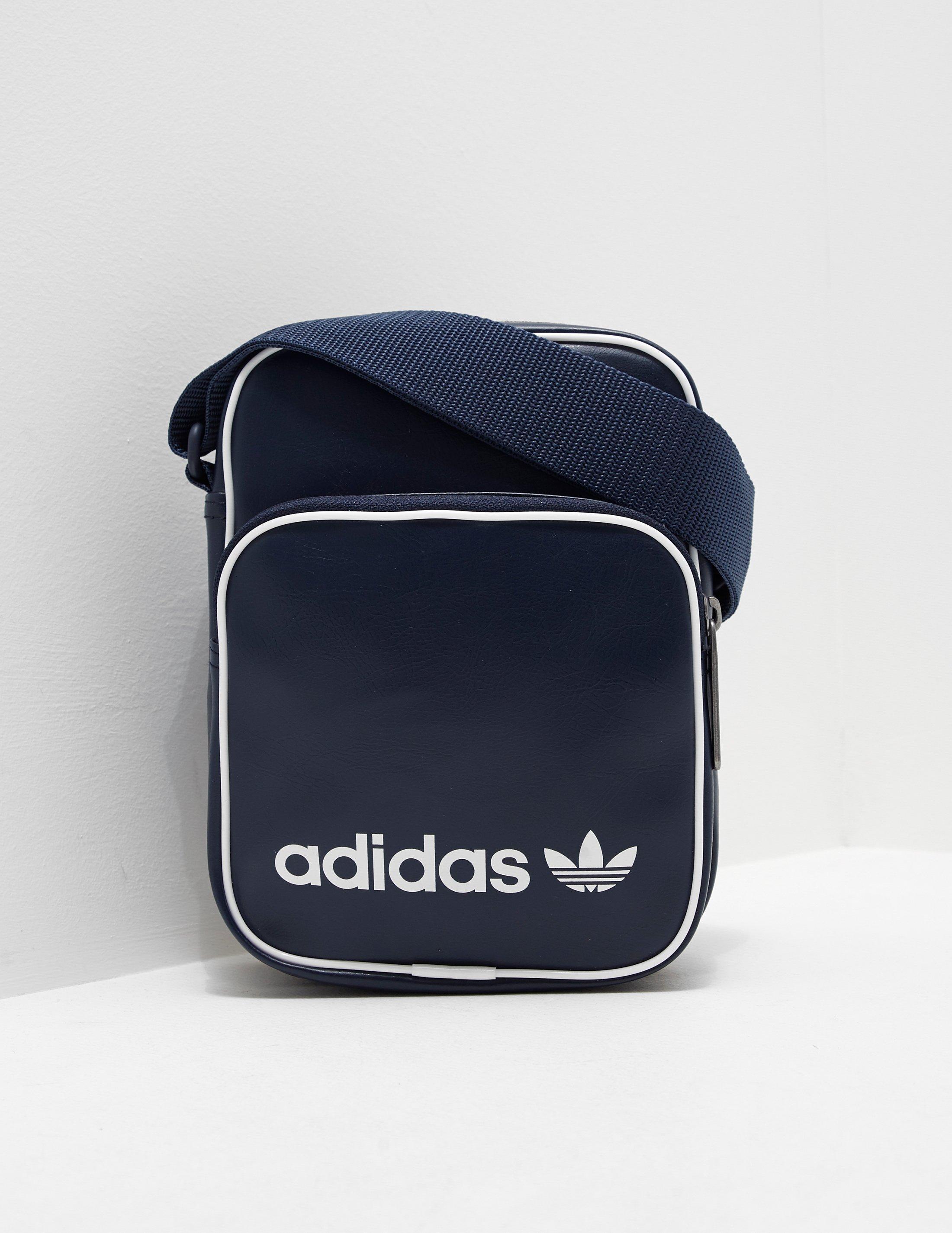 1f7a2bb283 adidas Originals Mens Mini Bag Vintage Navy navy in Blue for Men - Lyst
