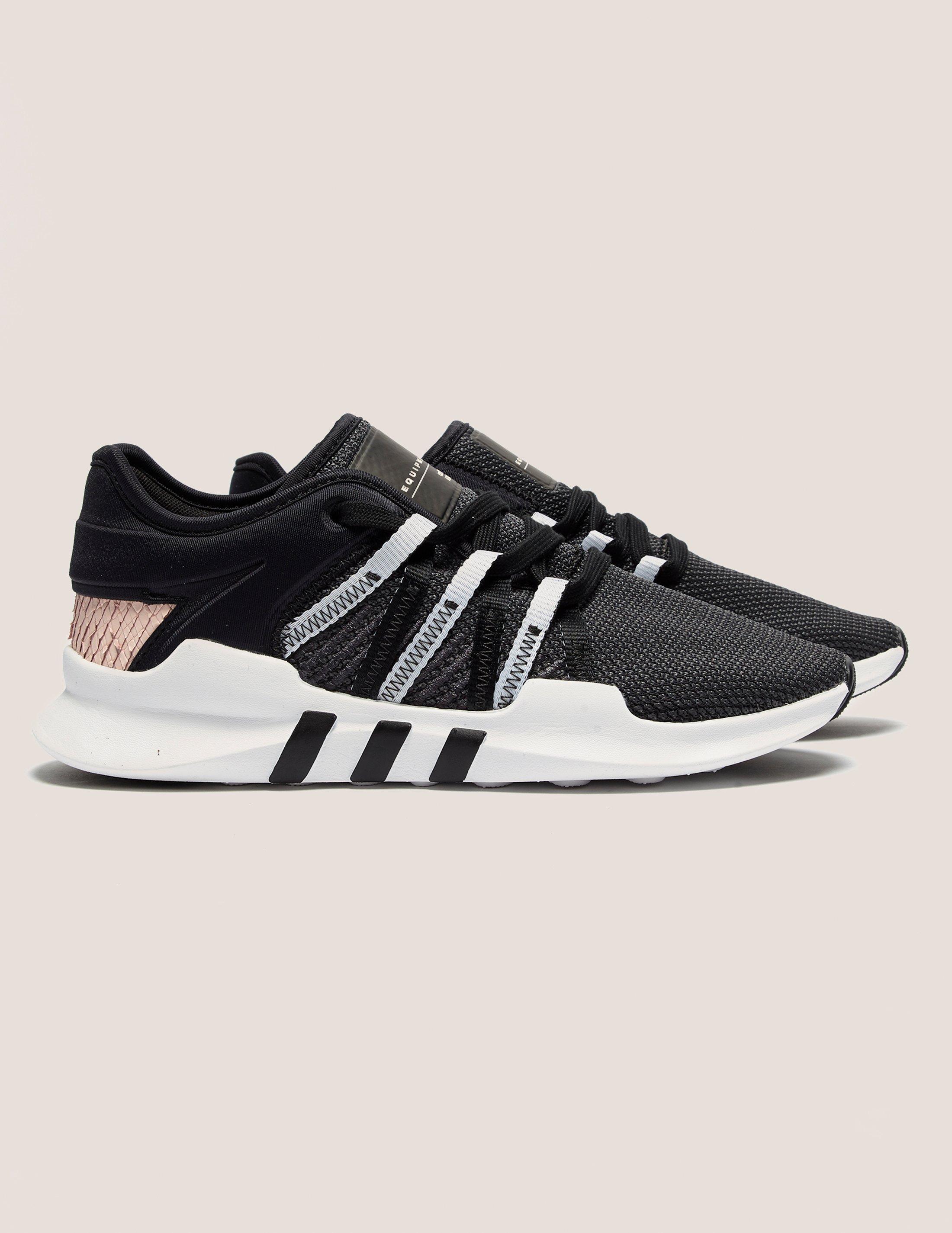 online store 01e27 53d49 ... release date lyst adidas originals womens eqt racing adv womens black  pink e6fa3 5a082