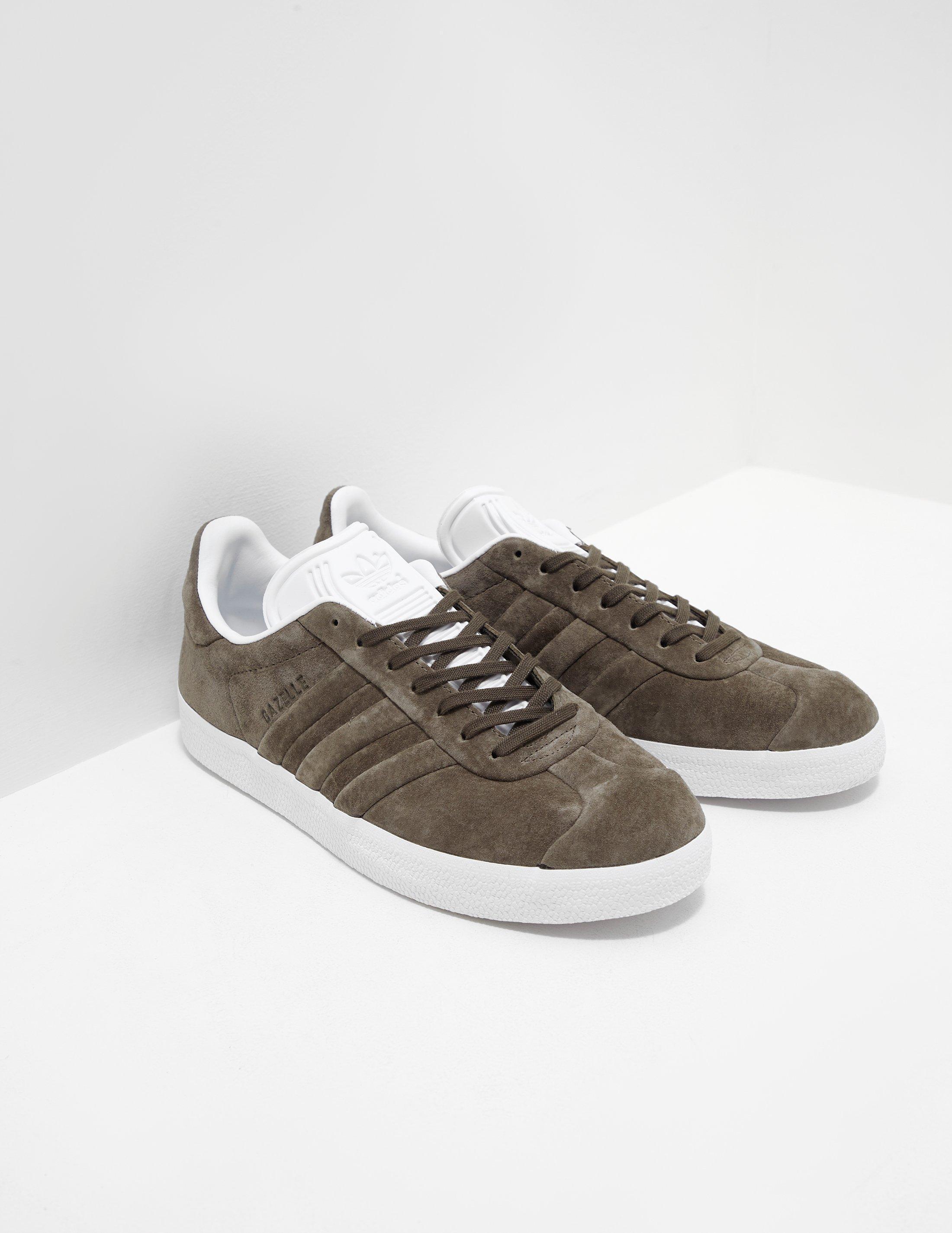 Lyst Adidas Originali Uomo Gazzella Stitch E Cachi In
