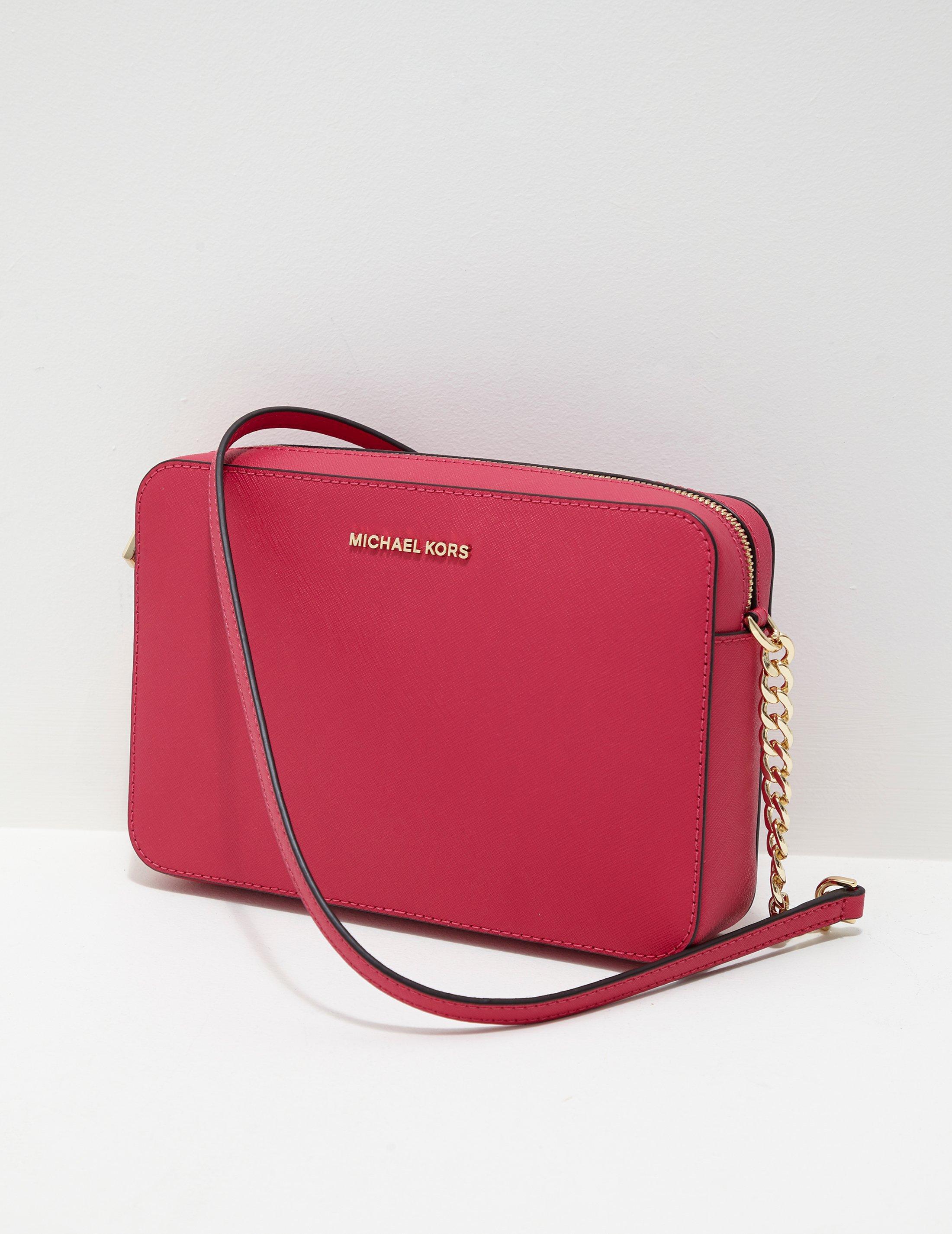 Michael Kors Womens Large East West Shoulder Bag Pink in Pink - Lyst f69f723df80f0
