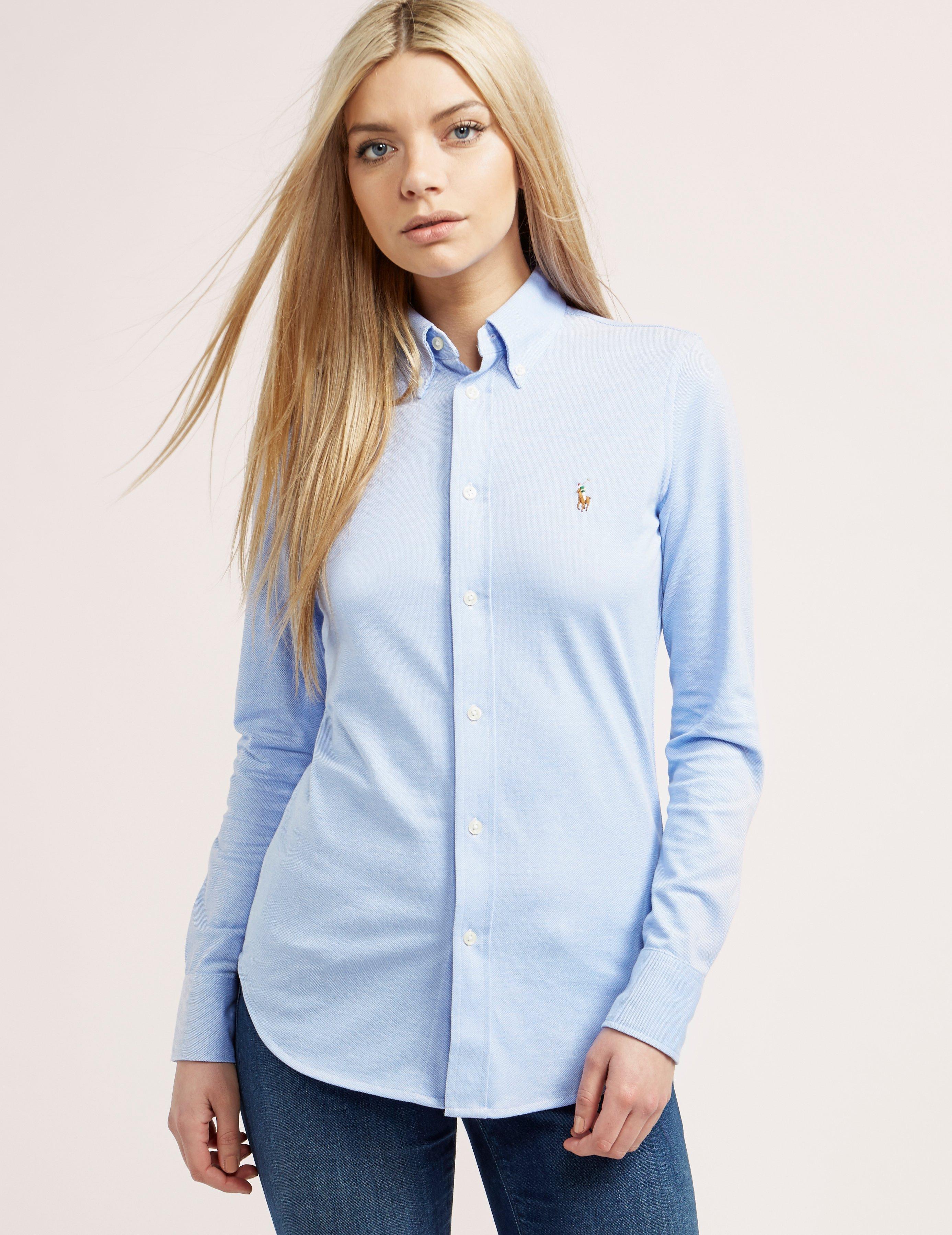ralph lauren women's button down oxford Shop Clothing & Shoes Online