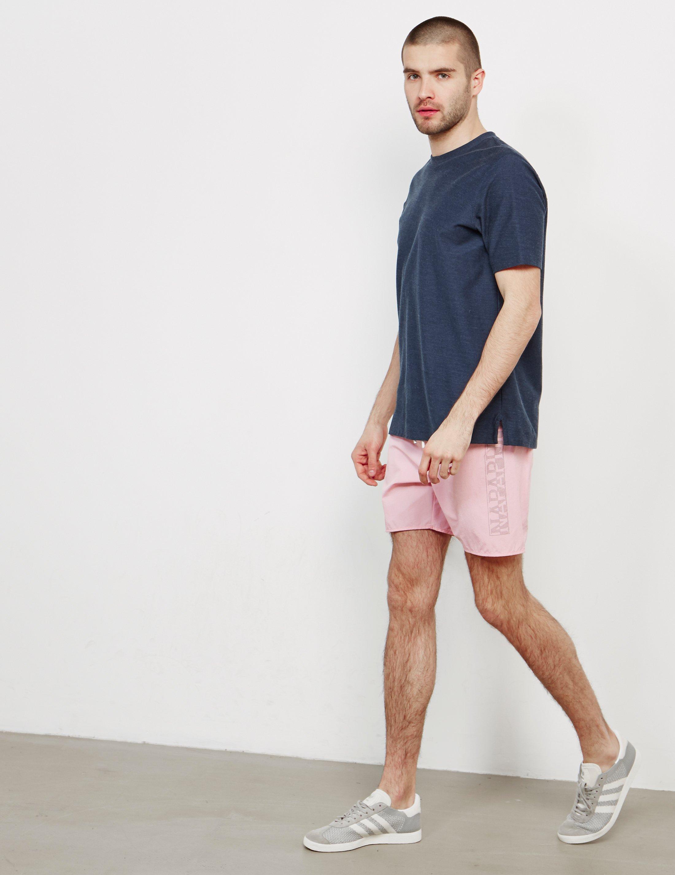 f3309e9040 Napapijri Varco Swim Shorts - Exclusively To Tessuti Light Pink/light Pink  in Pink for Men - Lyst
