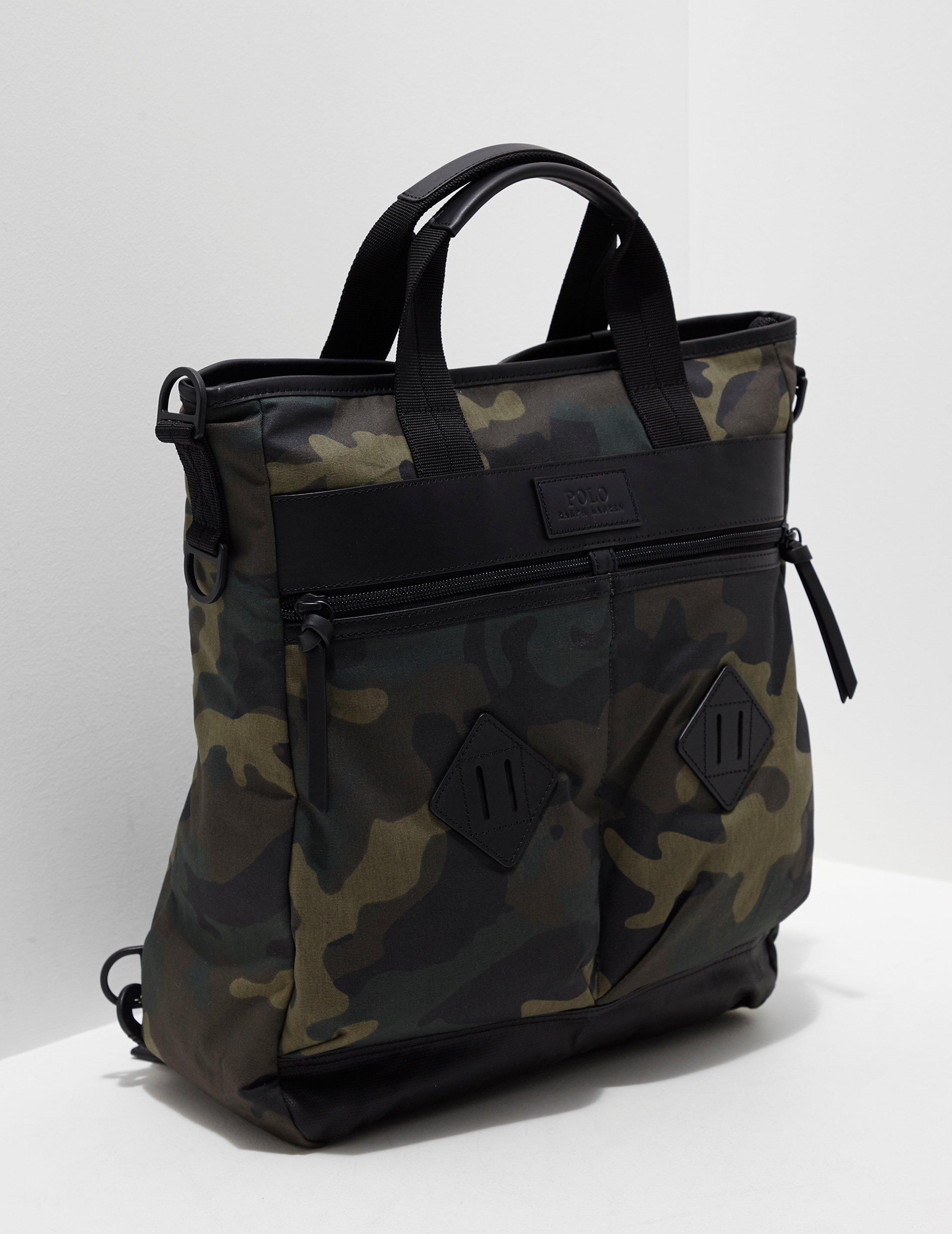 6e2ab4e8c5ff Polo Ralph Lauren Mens Tote Bag - Online Exclusive Green in Green ...